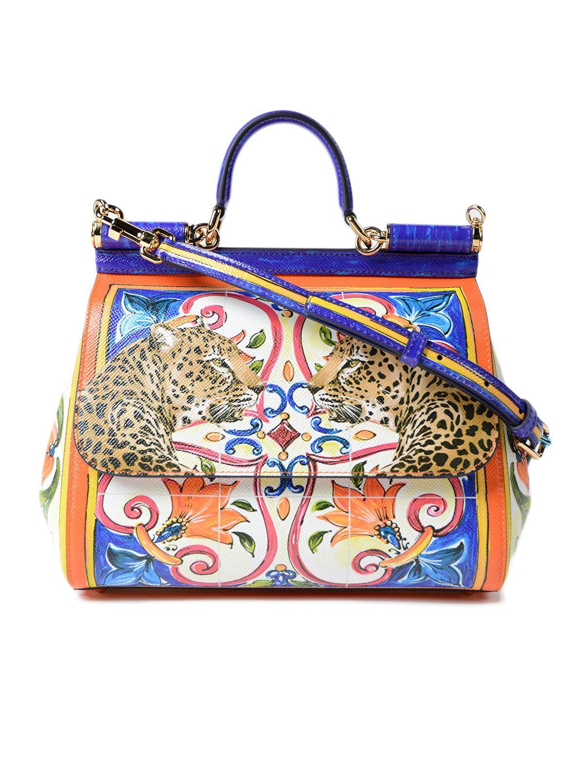 Dolce & Gabbana Dauphine Maiolica Handbag