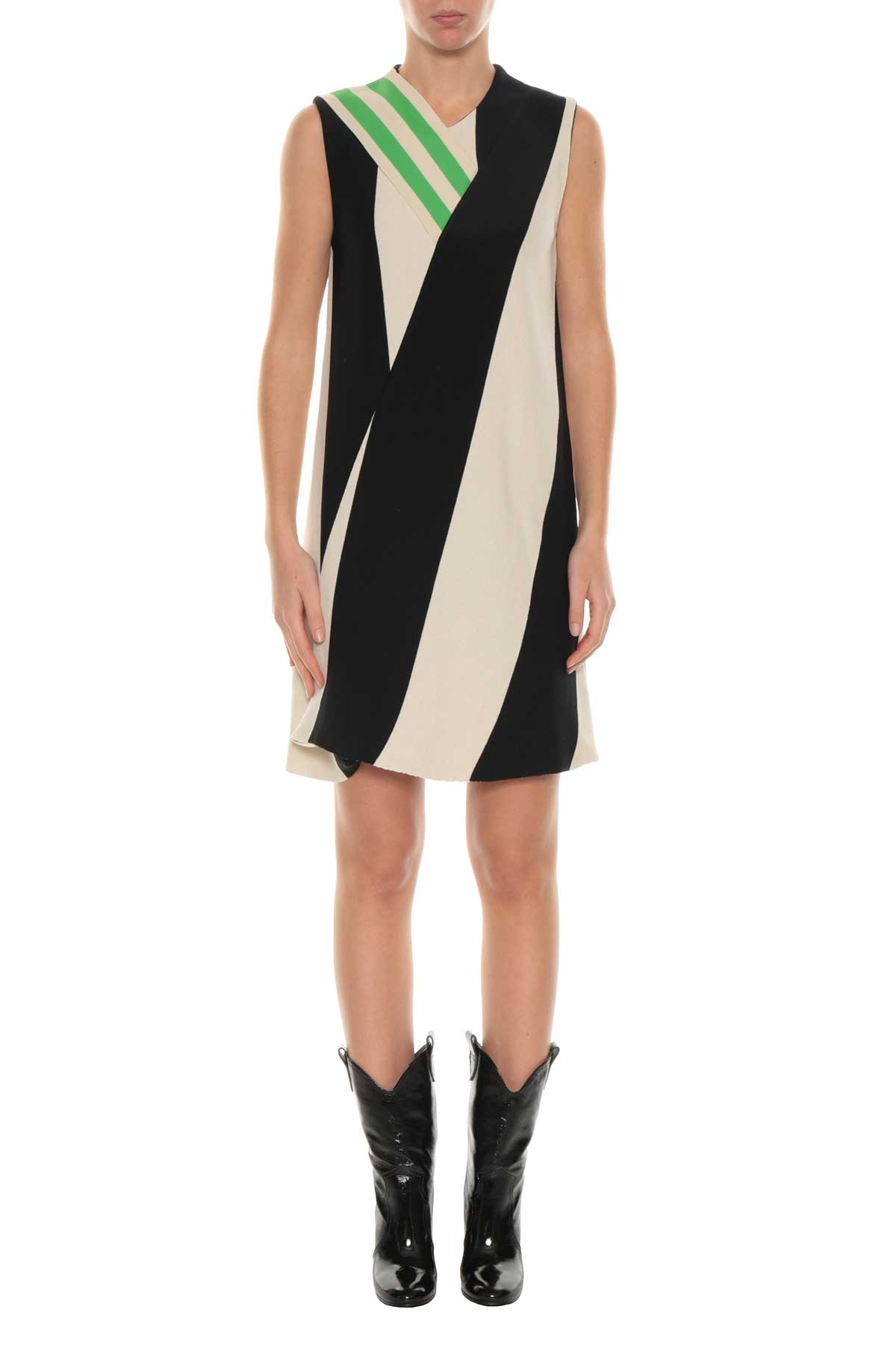 Calvin Klein Calvin Klein Striped Short Dress