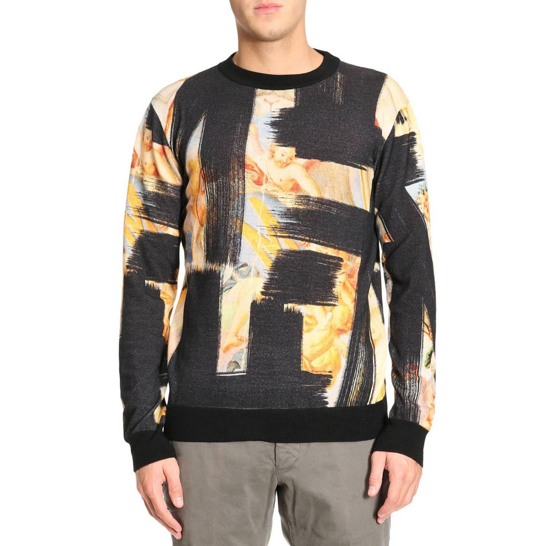 Sweatshirt Sweater Men Moschino Couture