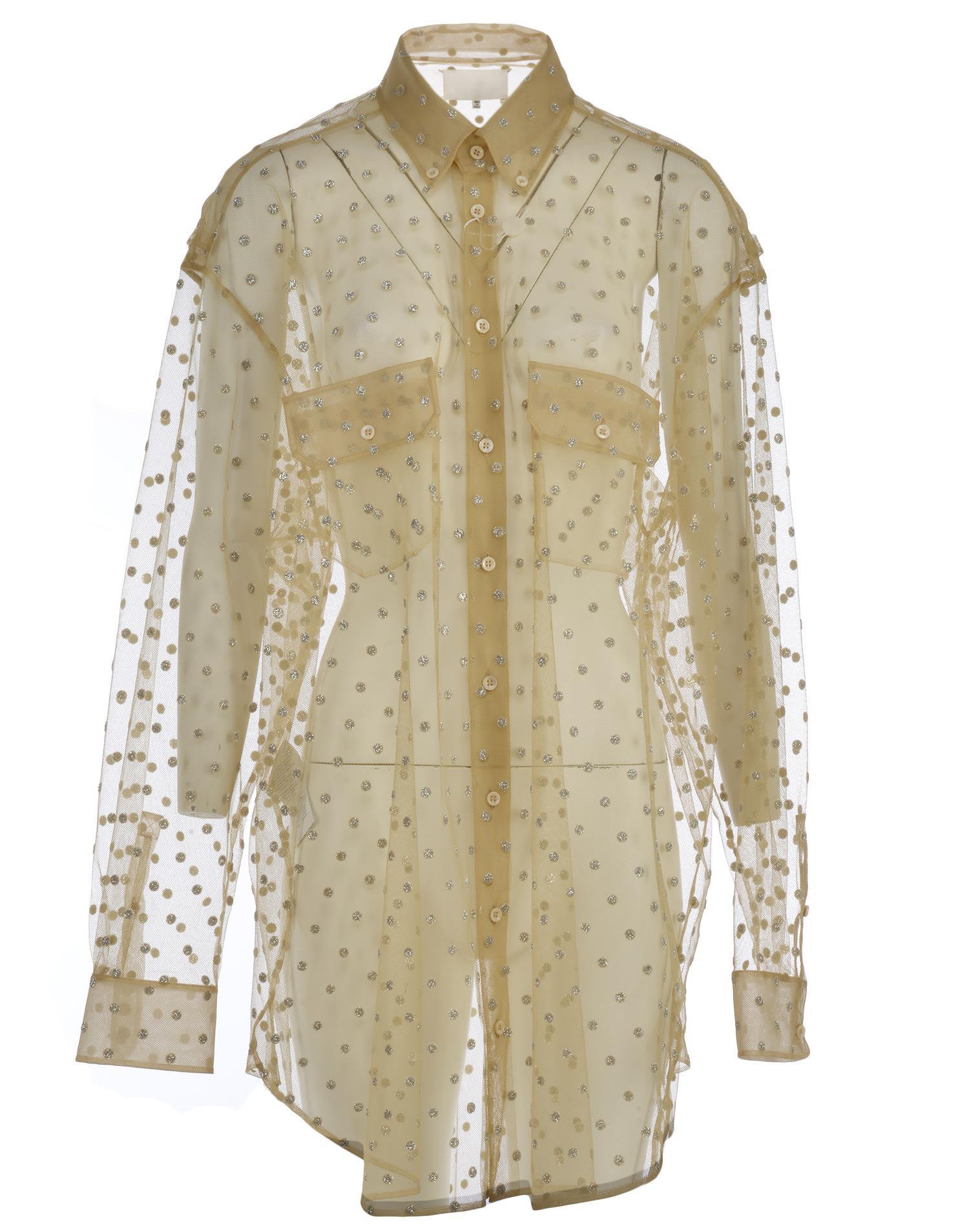 Maison Margiela Chemisier Sheer Dress