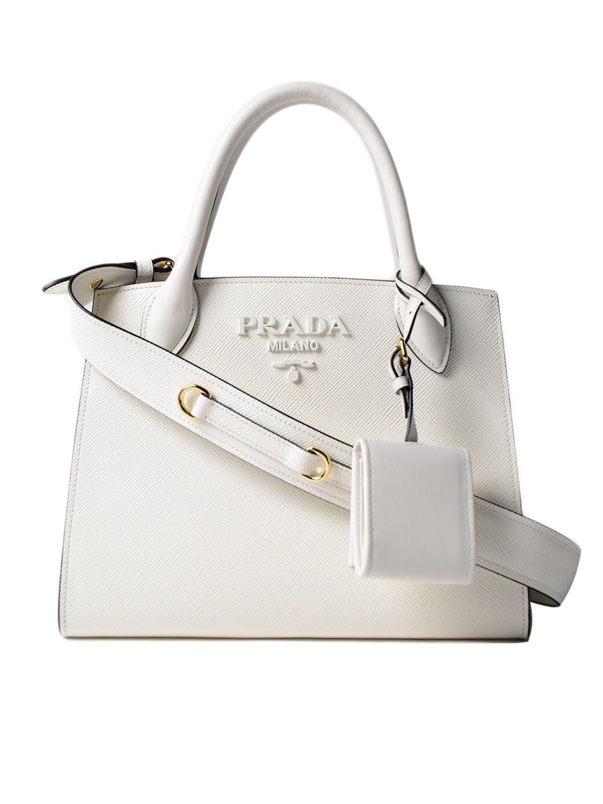 Prada Saff. cuir+city Calf Monochrome Bag