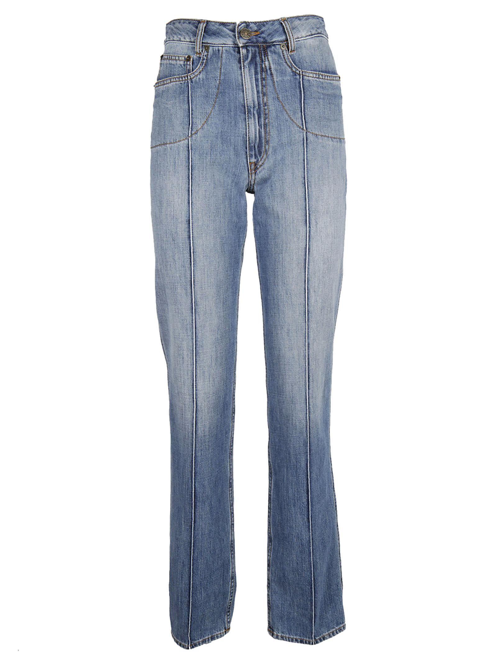 Maison Margiela Stripe Detail Jeans