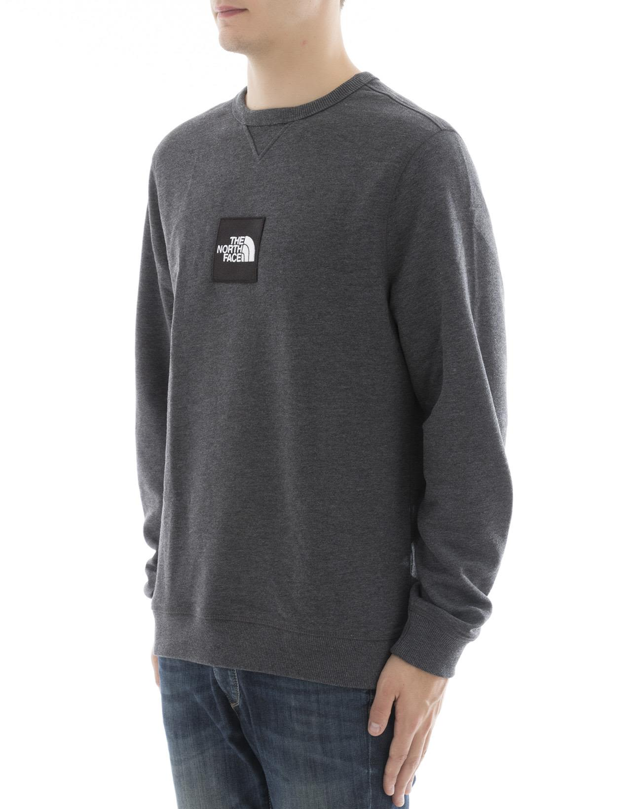 The North Face - Grey Cotton Sweater - Grey, Men's Sweaters | Italist