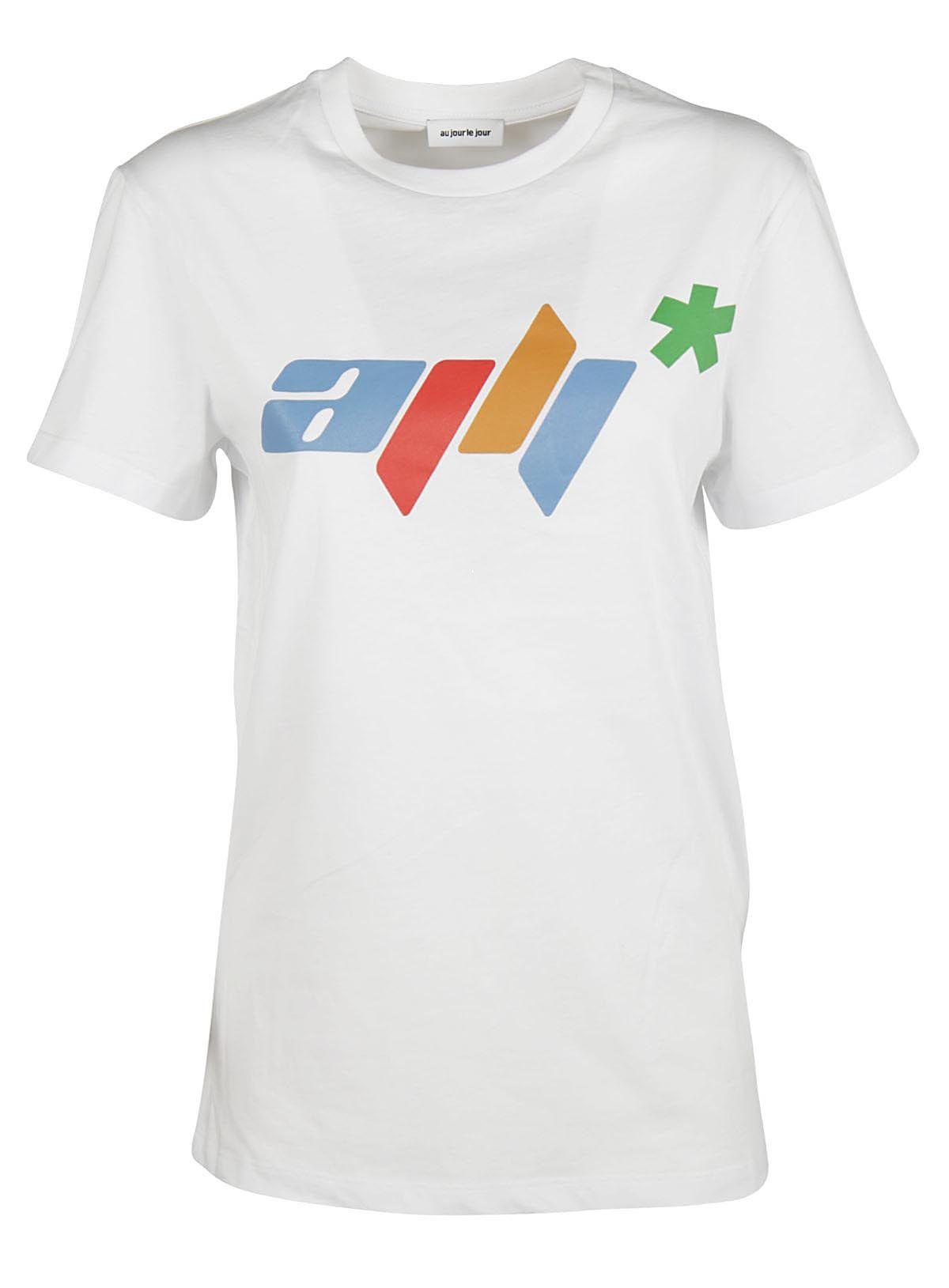 Au Jour Le Jour Au Jour Le Jour Printed T-shirt