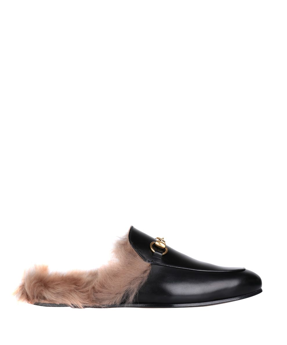 Gucci Princetown Horsebit Leather Backless Loafers