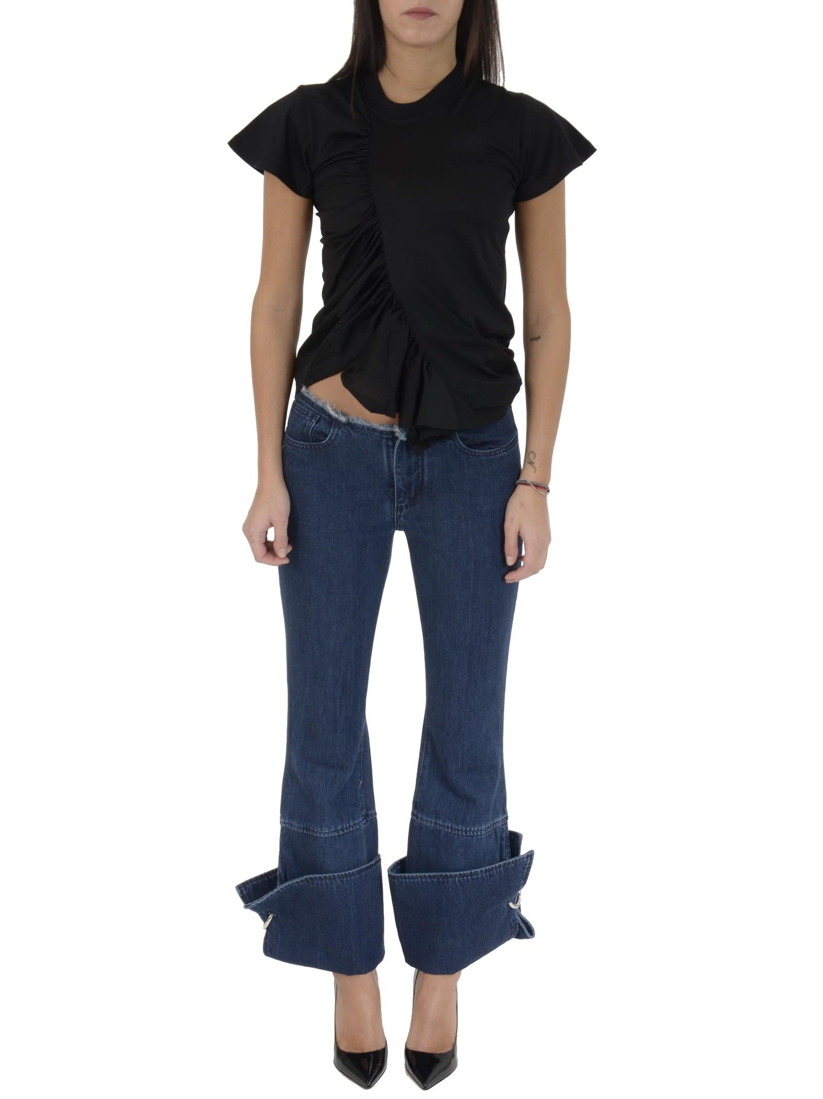 MarquesAlmeida Ring Detail Jeans