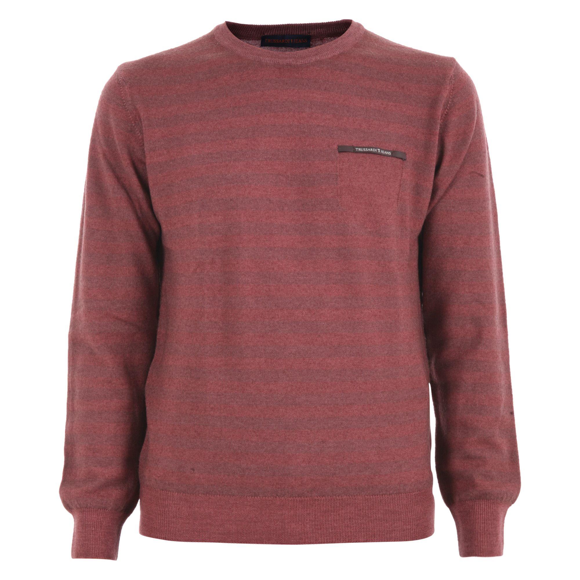 Trussardi Wool Knit Sweater