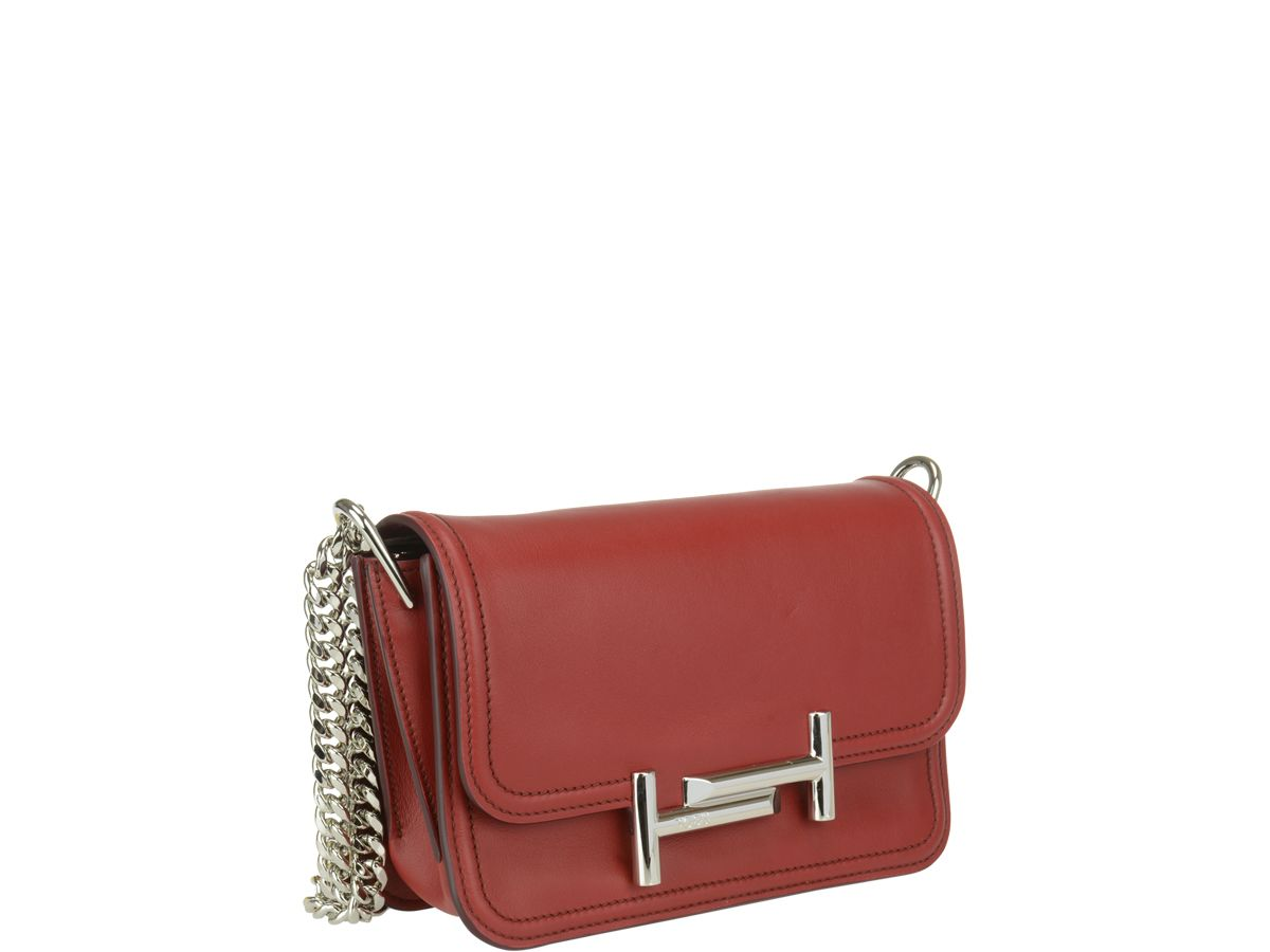 Tods Mini Double T Bag