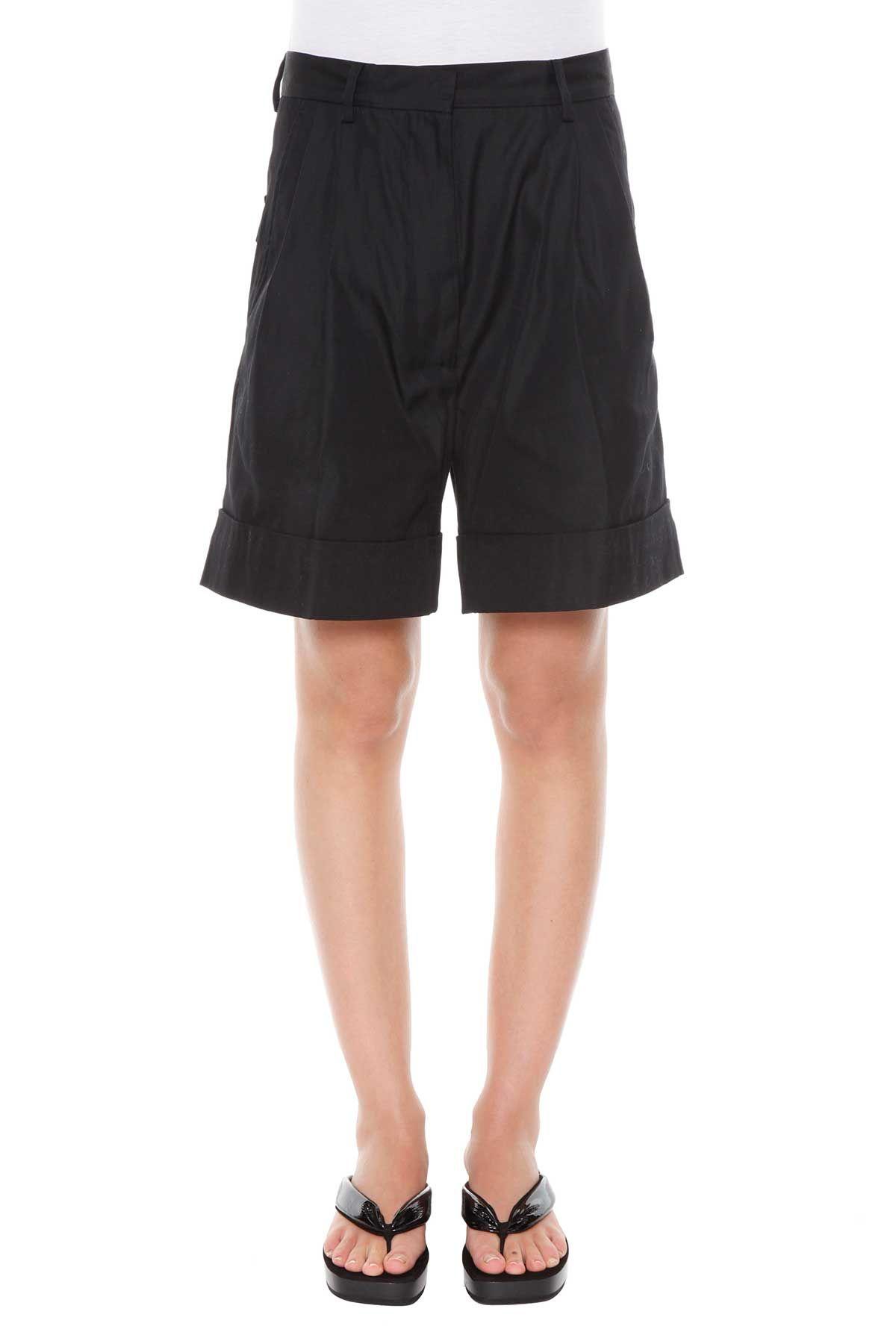 Dries Van Noten Front Pleats Shorts