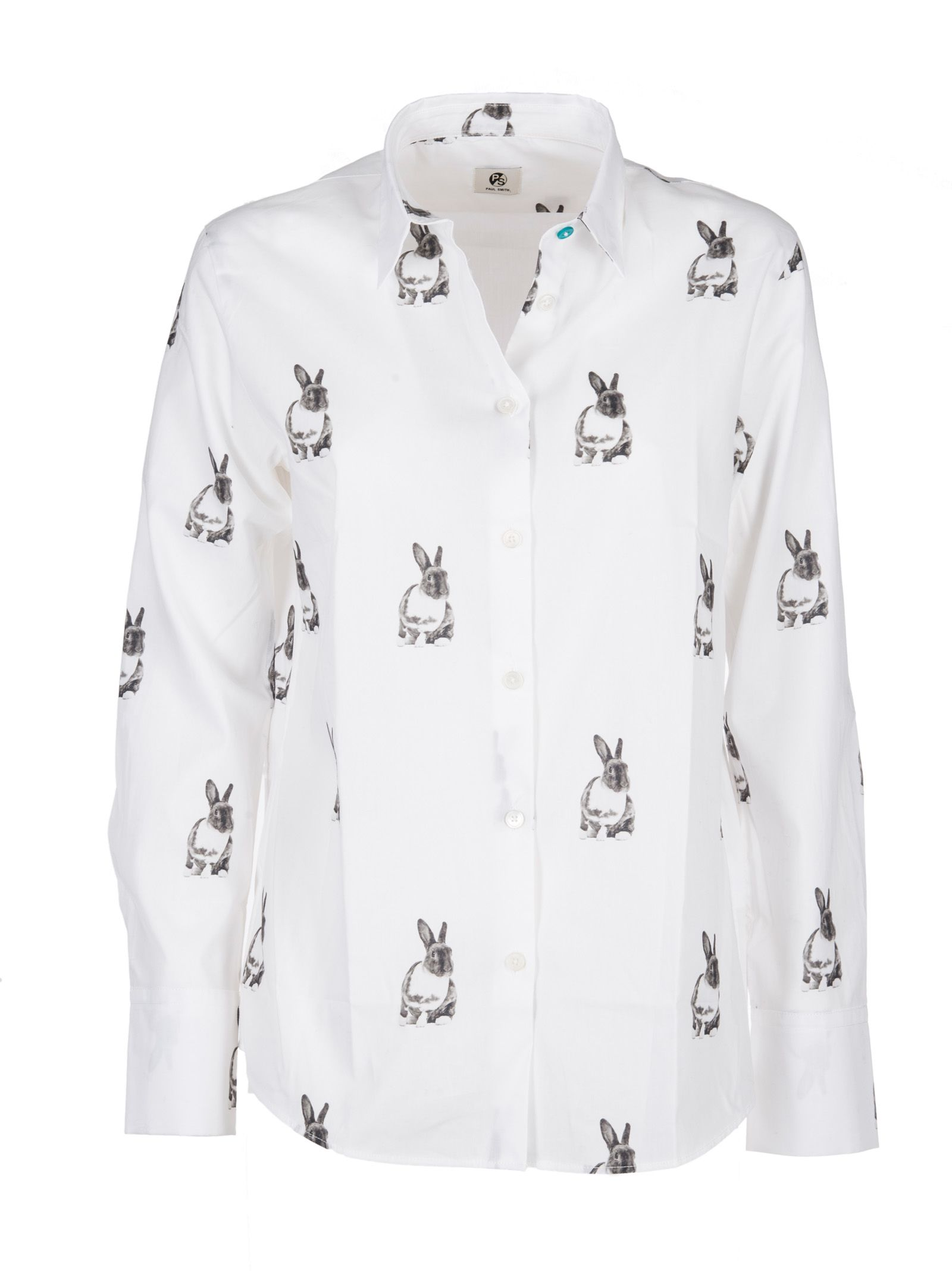 Paul Smith Rabbit Print Shirt