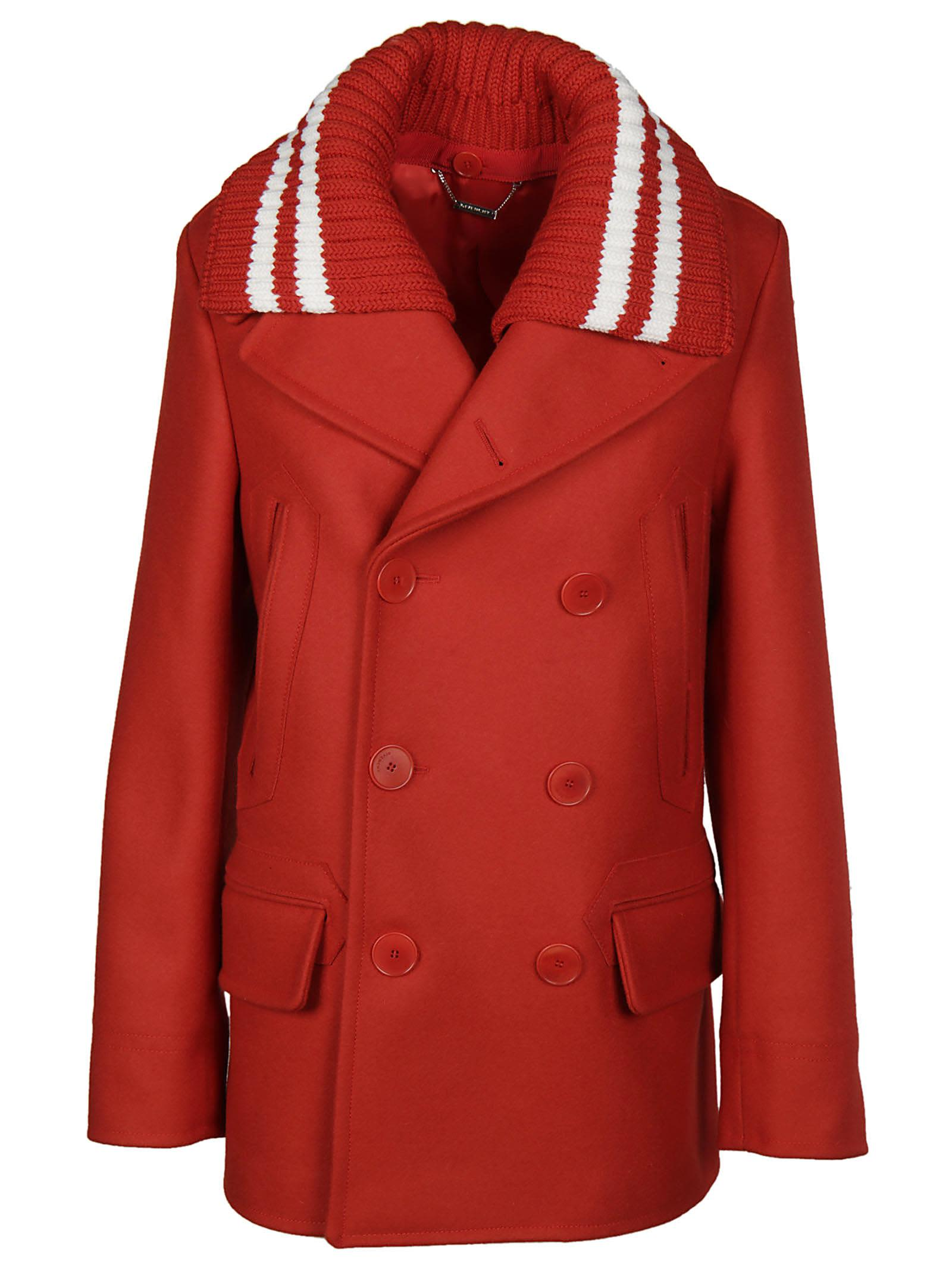 Givenchy Removable Collar Peacoat