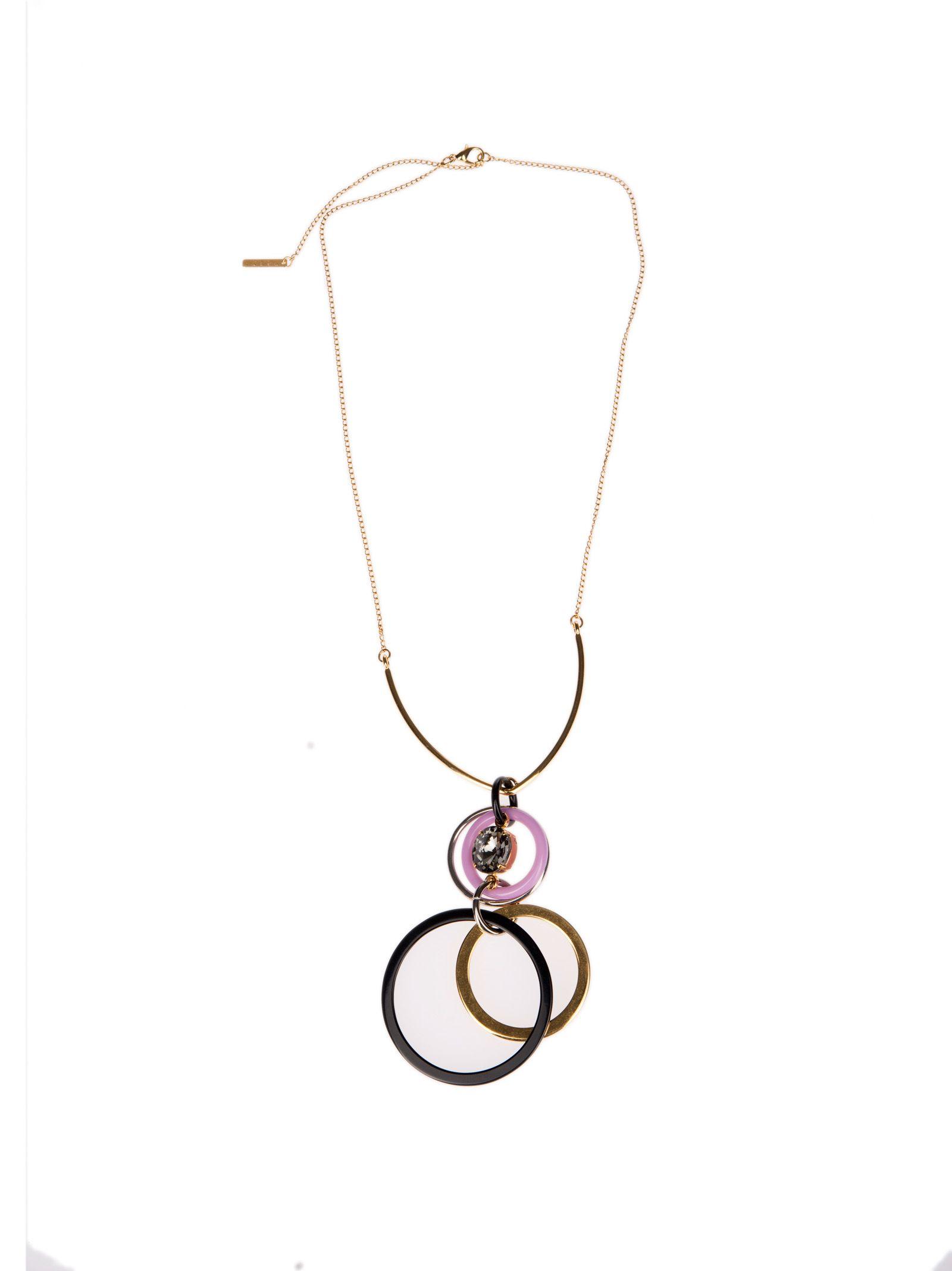 Marni Circle Link Drop Necklace