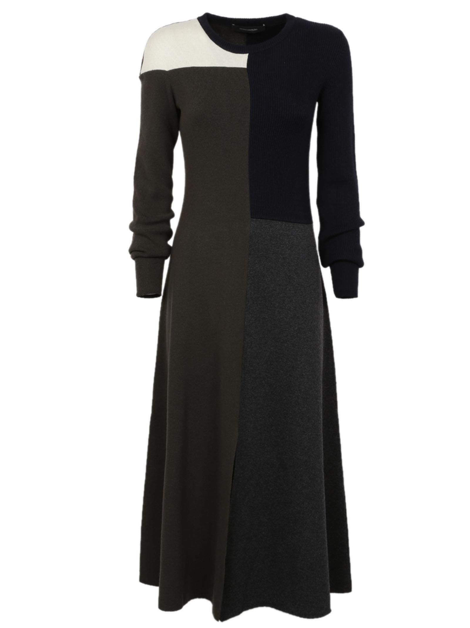 Cédric Charlier Patchwork Dress
