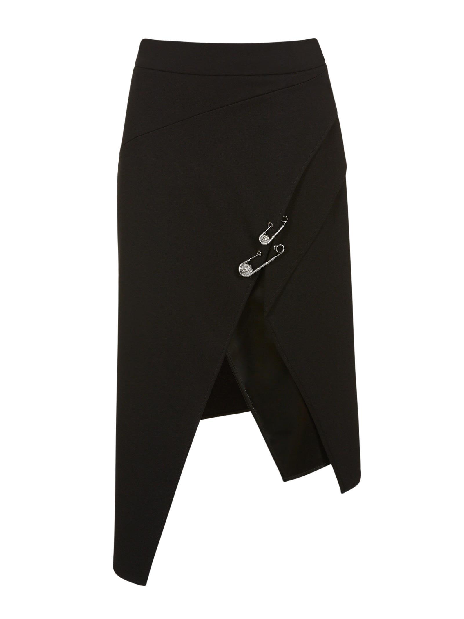 Versus Asymmetric Wrap Skirt