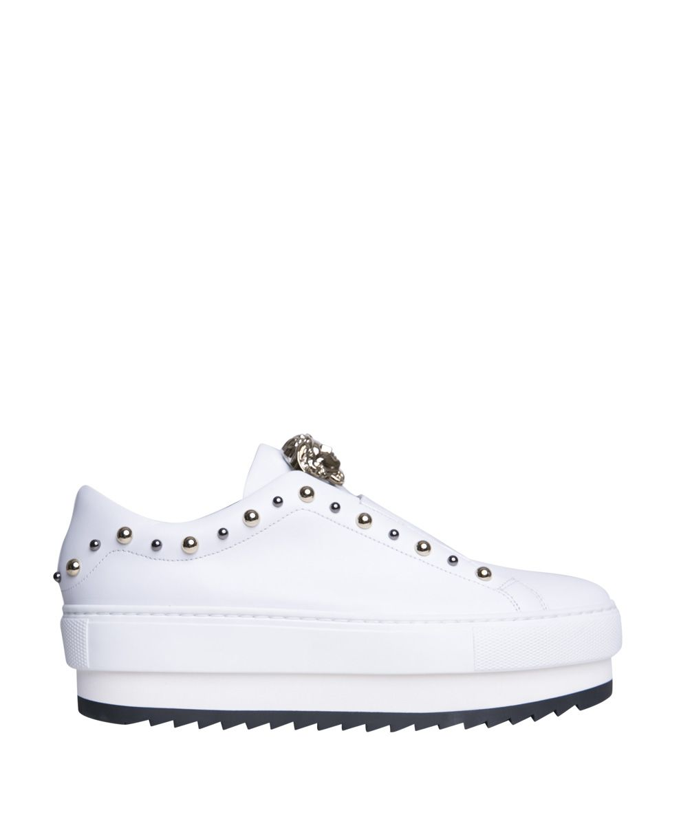 Versace Medusa Leather Sneakers