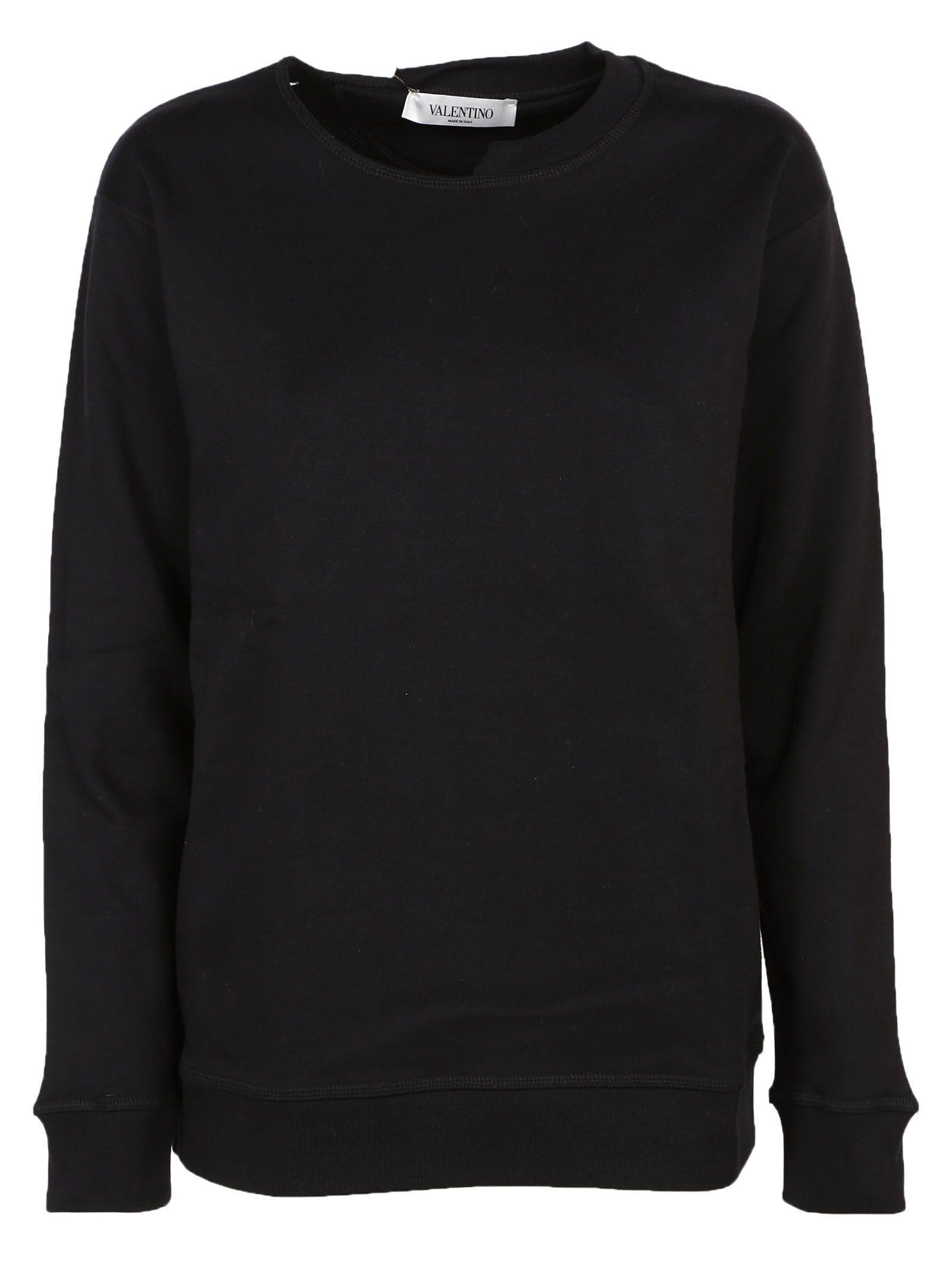 Valentino Necklace Collar Sweatshirt