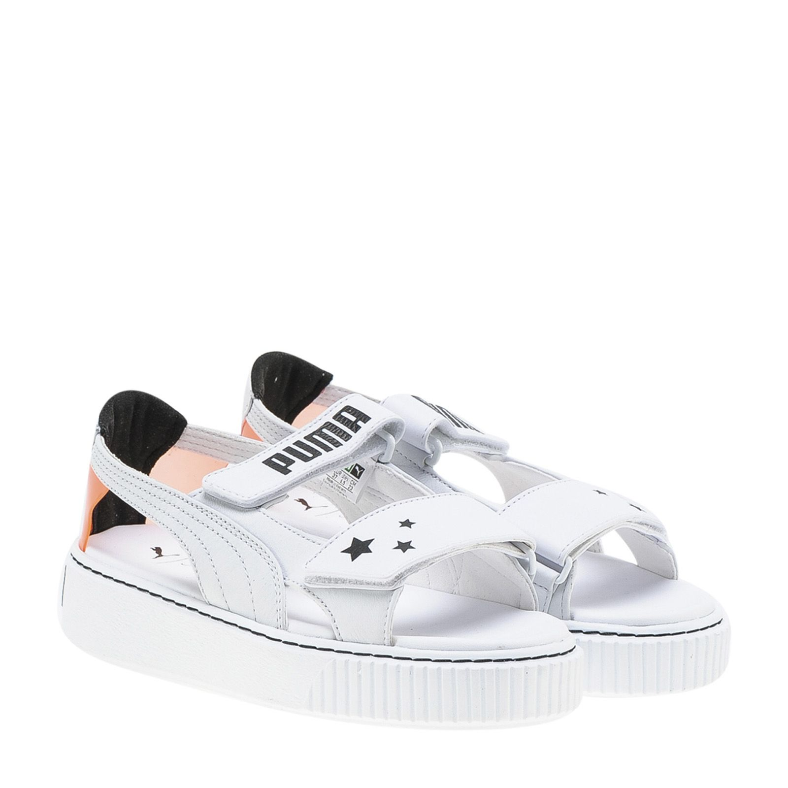 Puma X Sophia Webster Open Toe Strap Sneakers