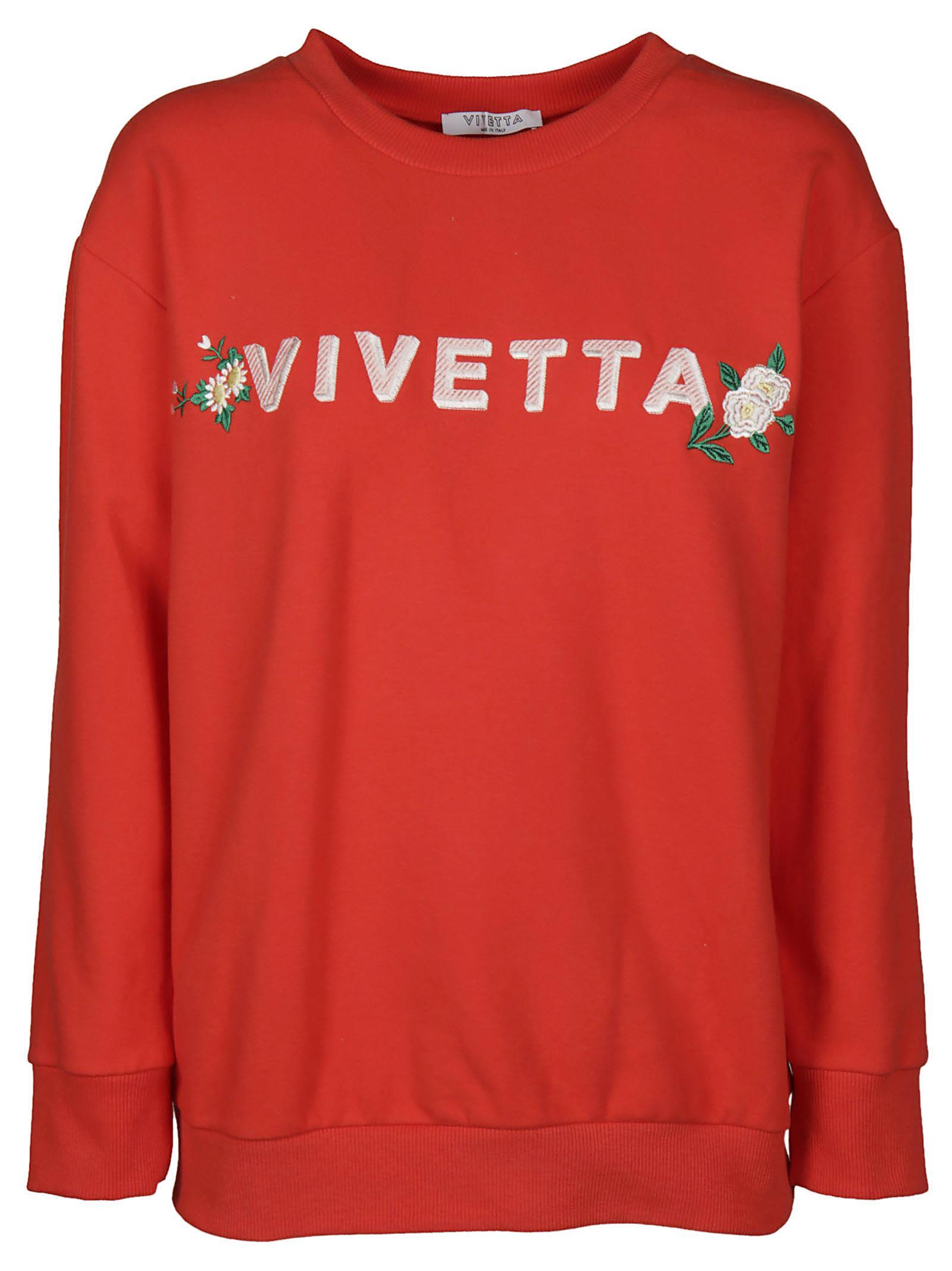 Vivetta Erfurt Logo Sweatshirt
