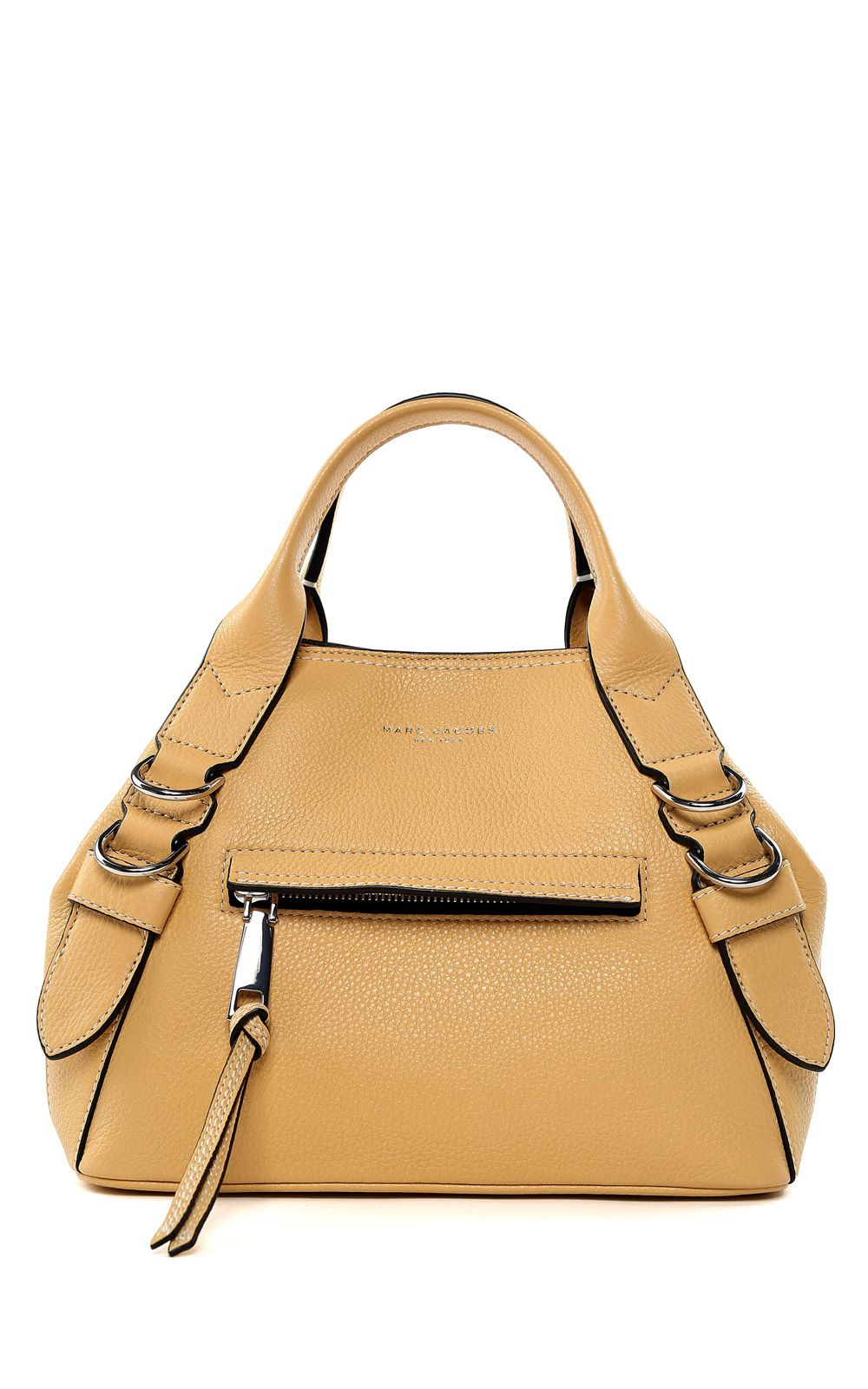 marc jacobs female marc jacobs the mini anchor pebbledleather shopping bag