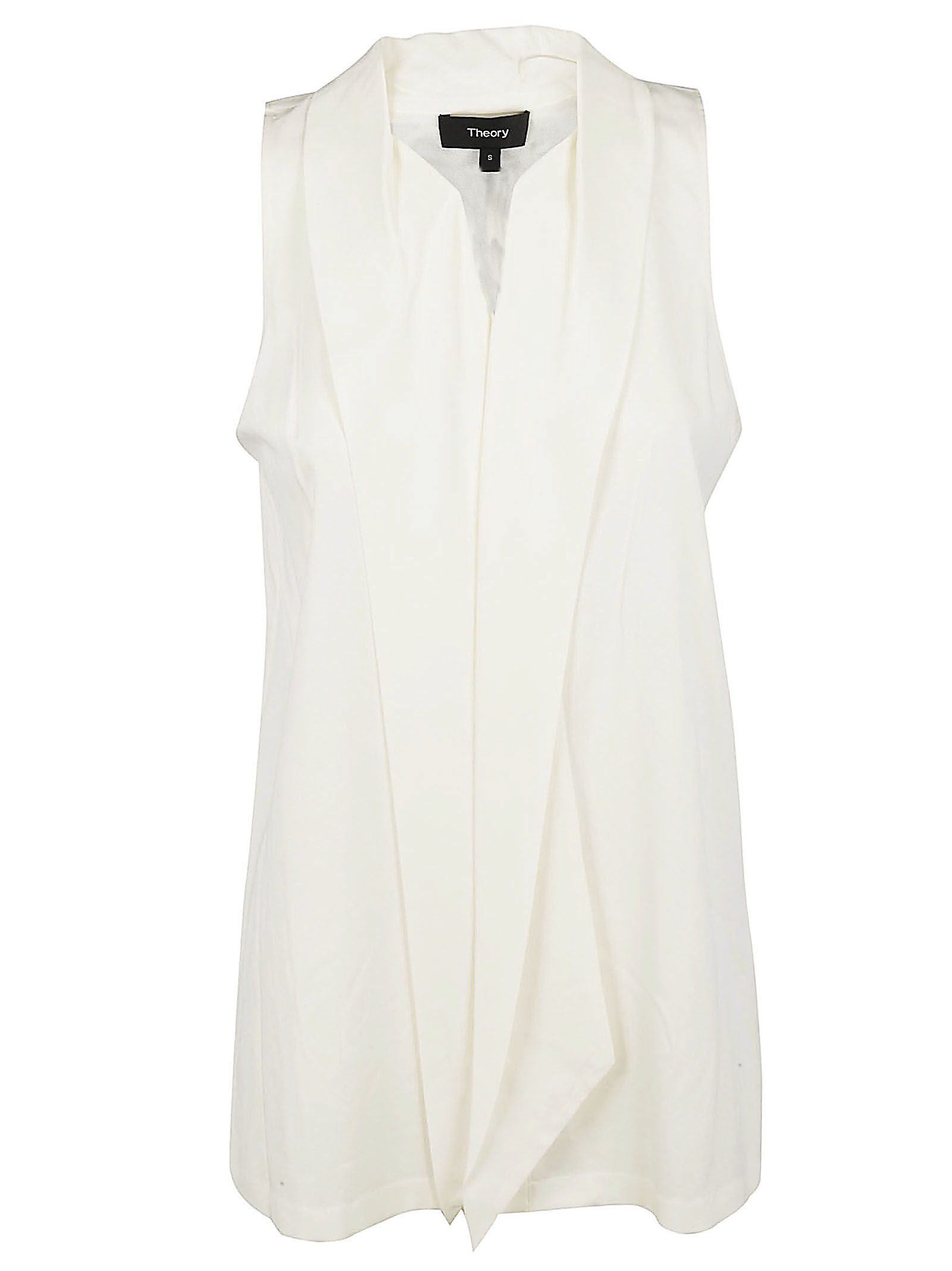 Theory Scarf Neck Blouse