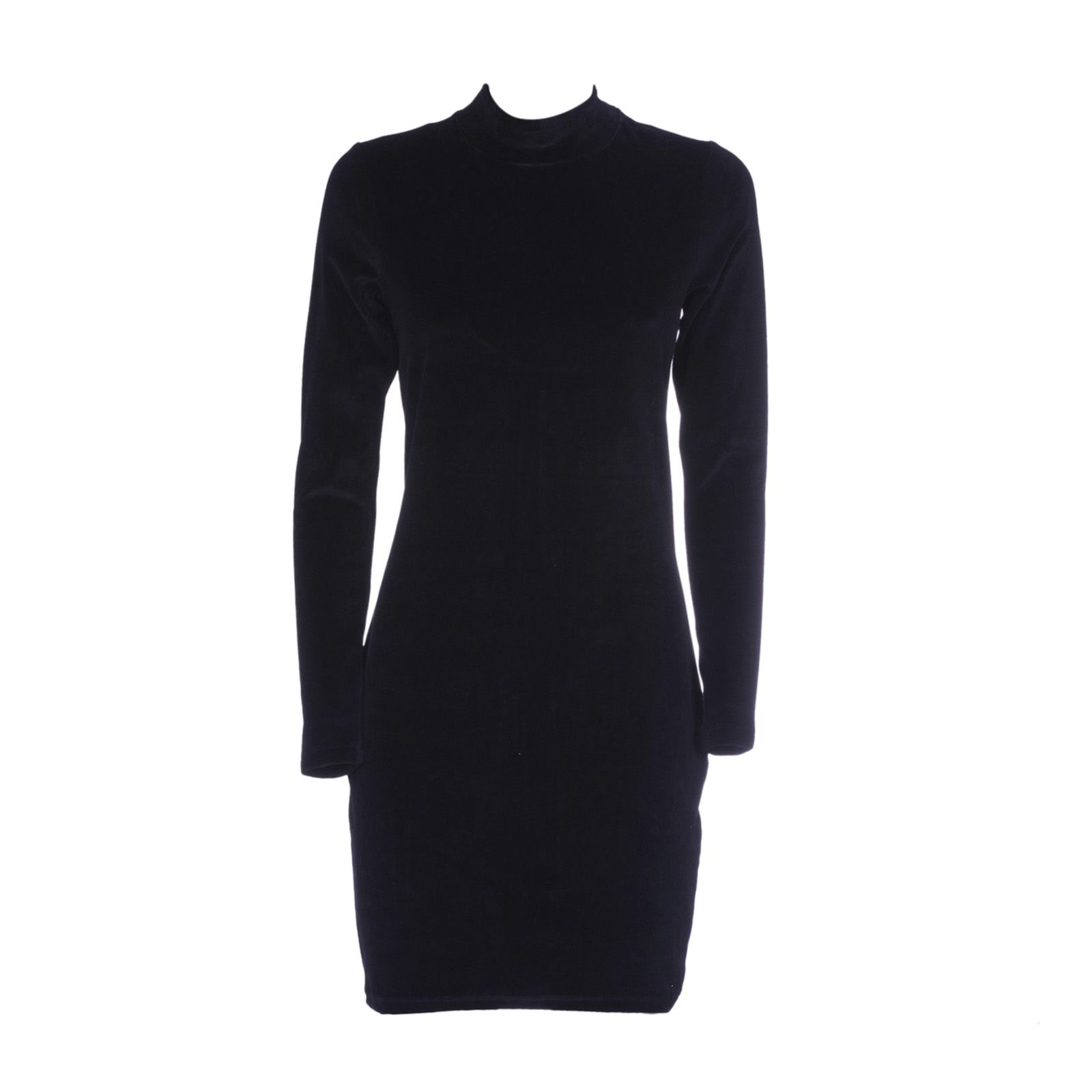 T By Alexander Wang Funnel Neck Mini Dres