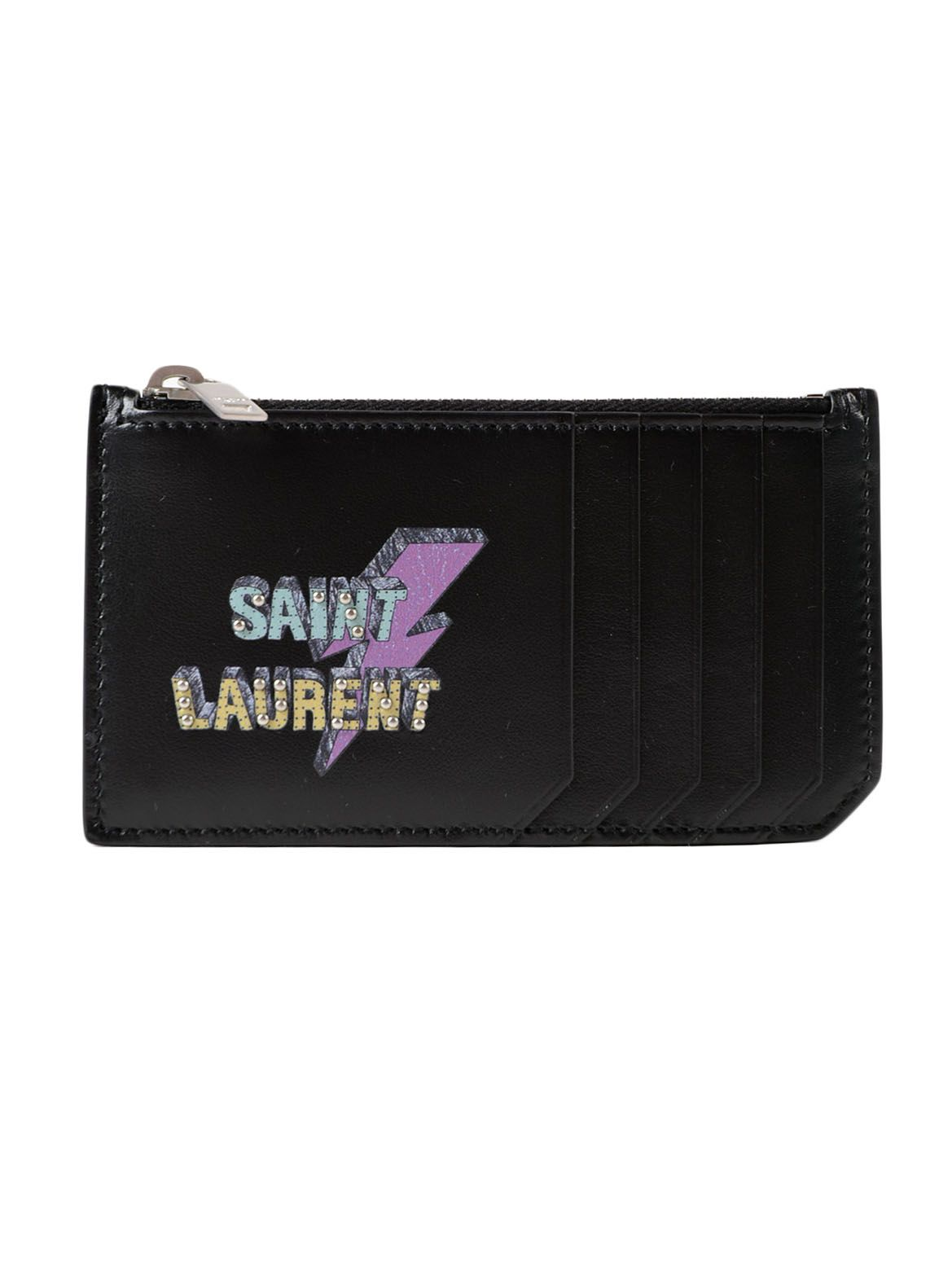 Saint Laurent Zipped Credit Card Holder