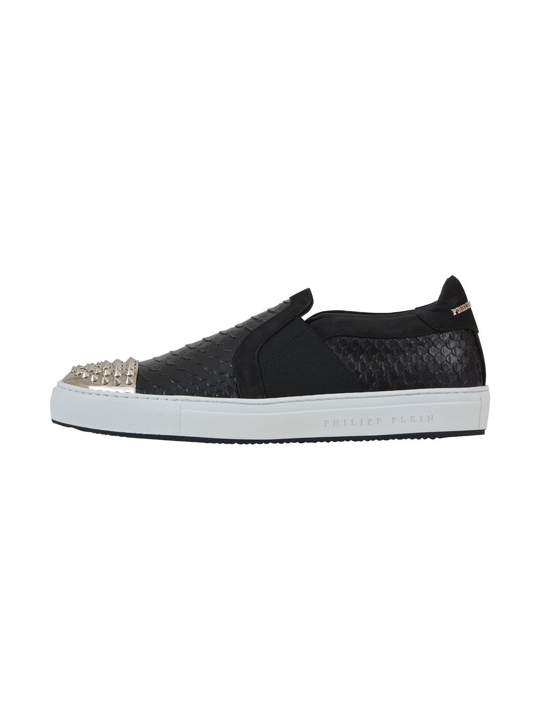Philipp Plein Leather Slip On
