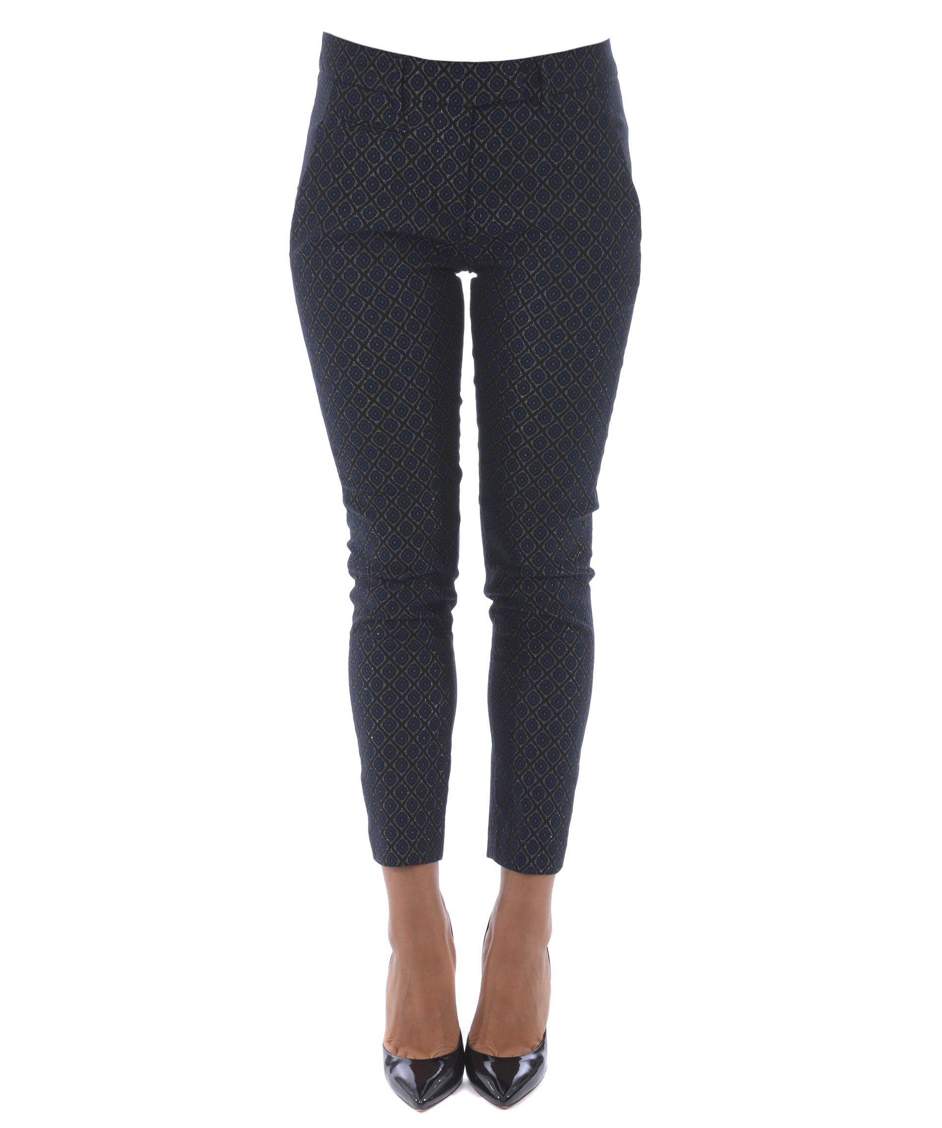 Dondup Printed Cropped Trousers