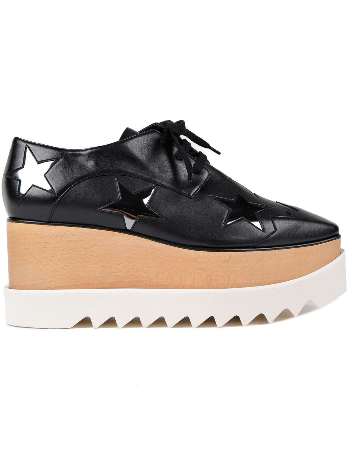 Stella McCartney Elyse Star Lace-up Shoes
