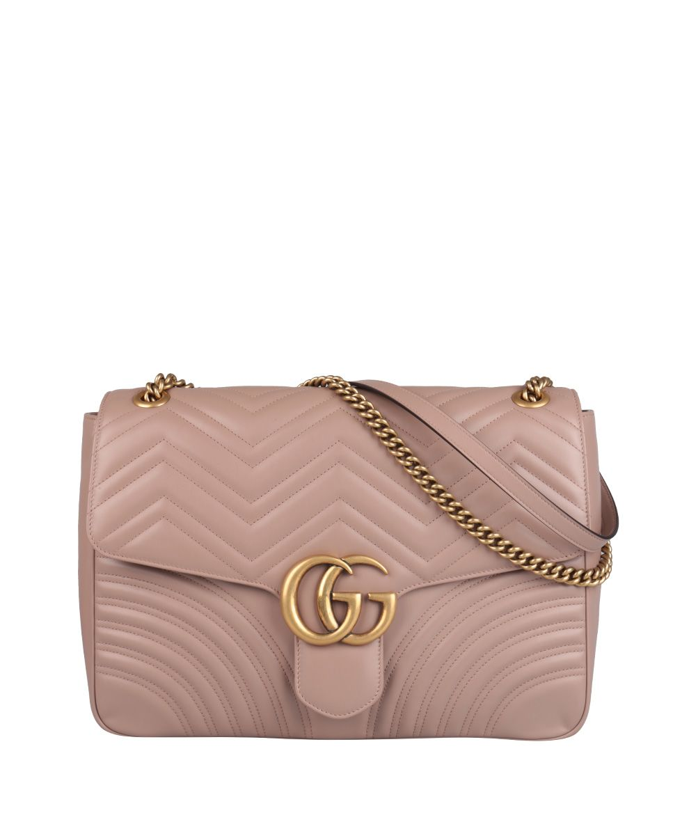Gucci Gg Marmont Large Leather Bag