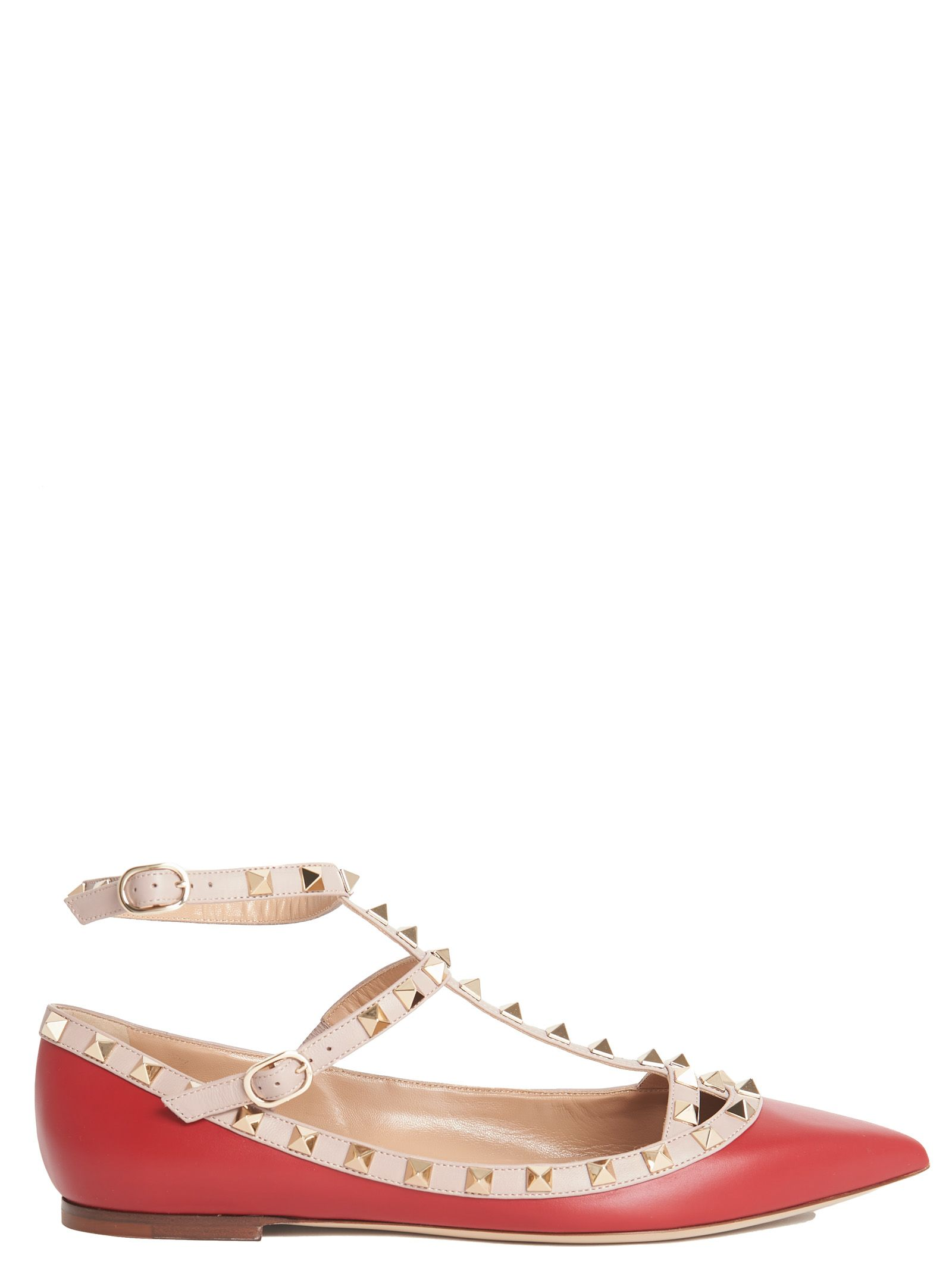 Valentino Garavani - Valentino Garavani Shoes - Red, Women ...