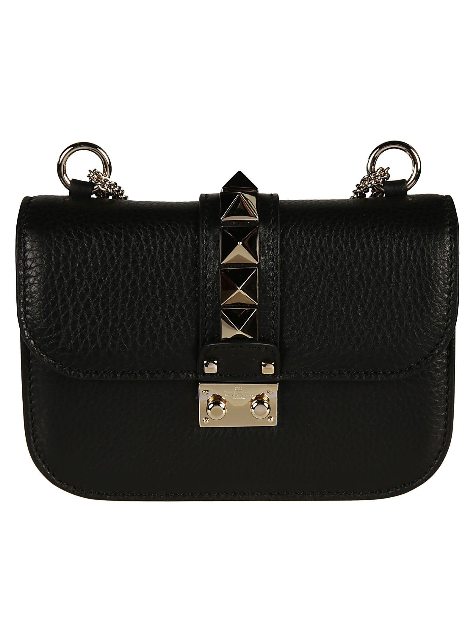Valentino Garavani Mini Glam Lock Shoulder Bag