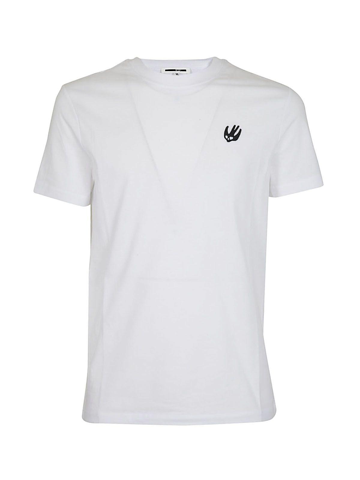 Mcq Alexander Mcqueen Swallow Patch T-shirt