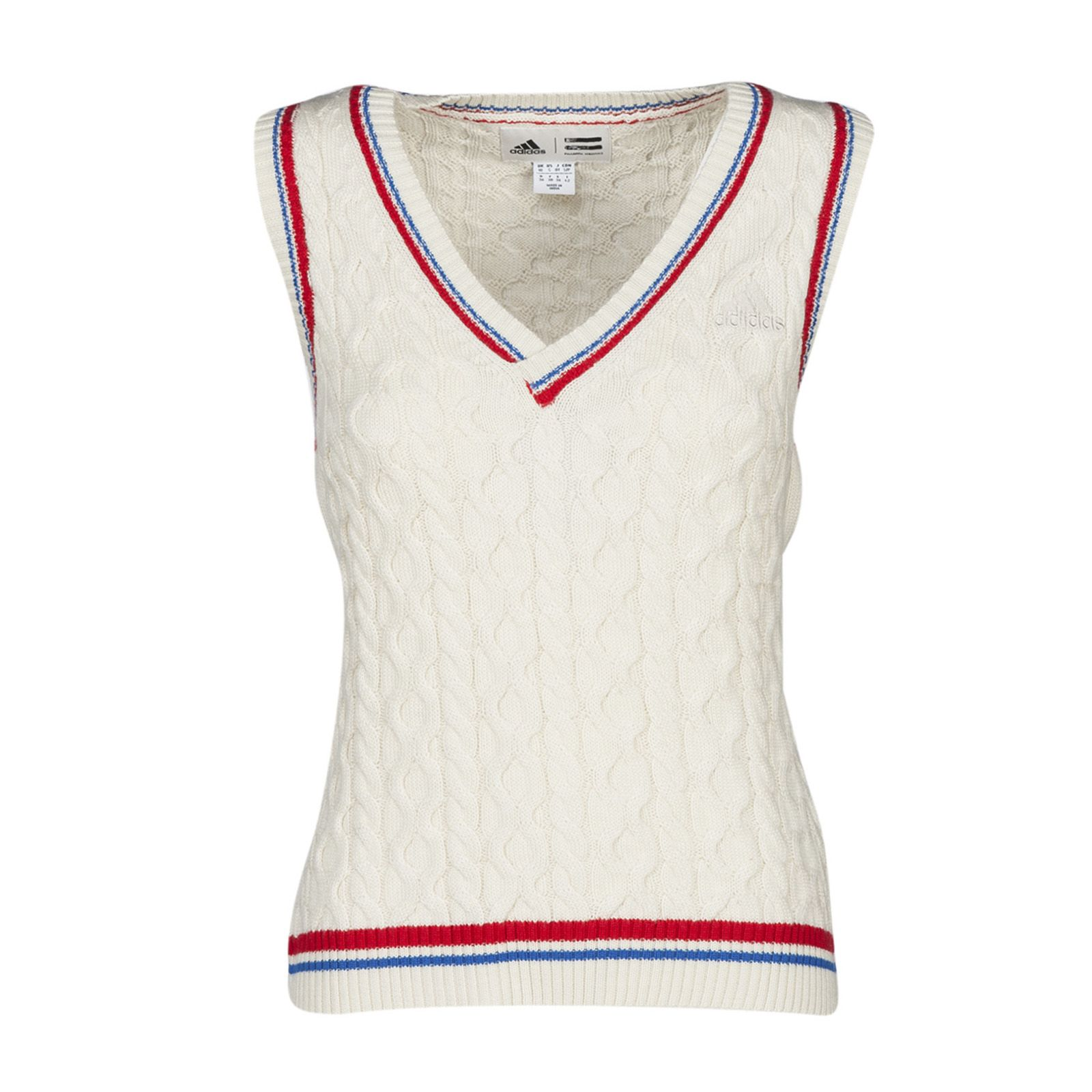 Adidas New York Cable Knit Vest