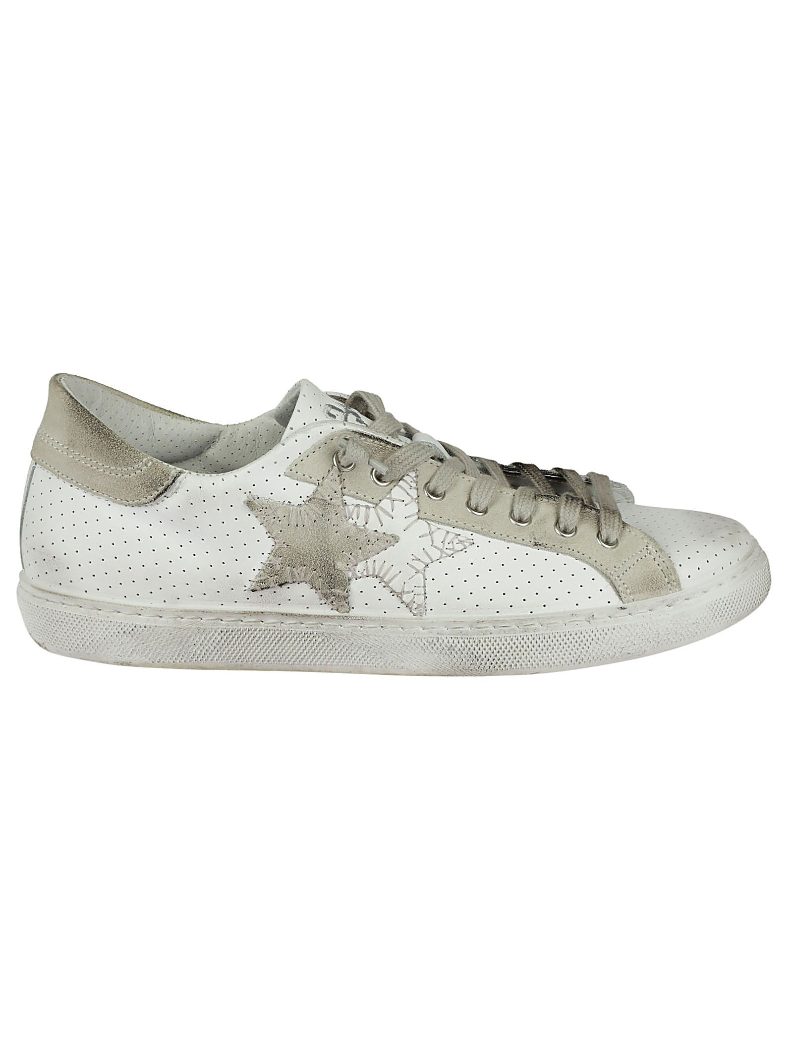 2STAR 2 STAR LOW ICE SNEAKERS