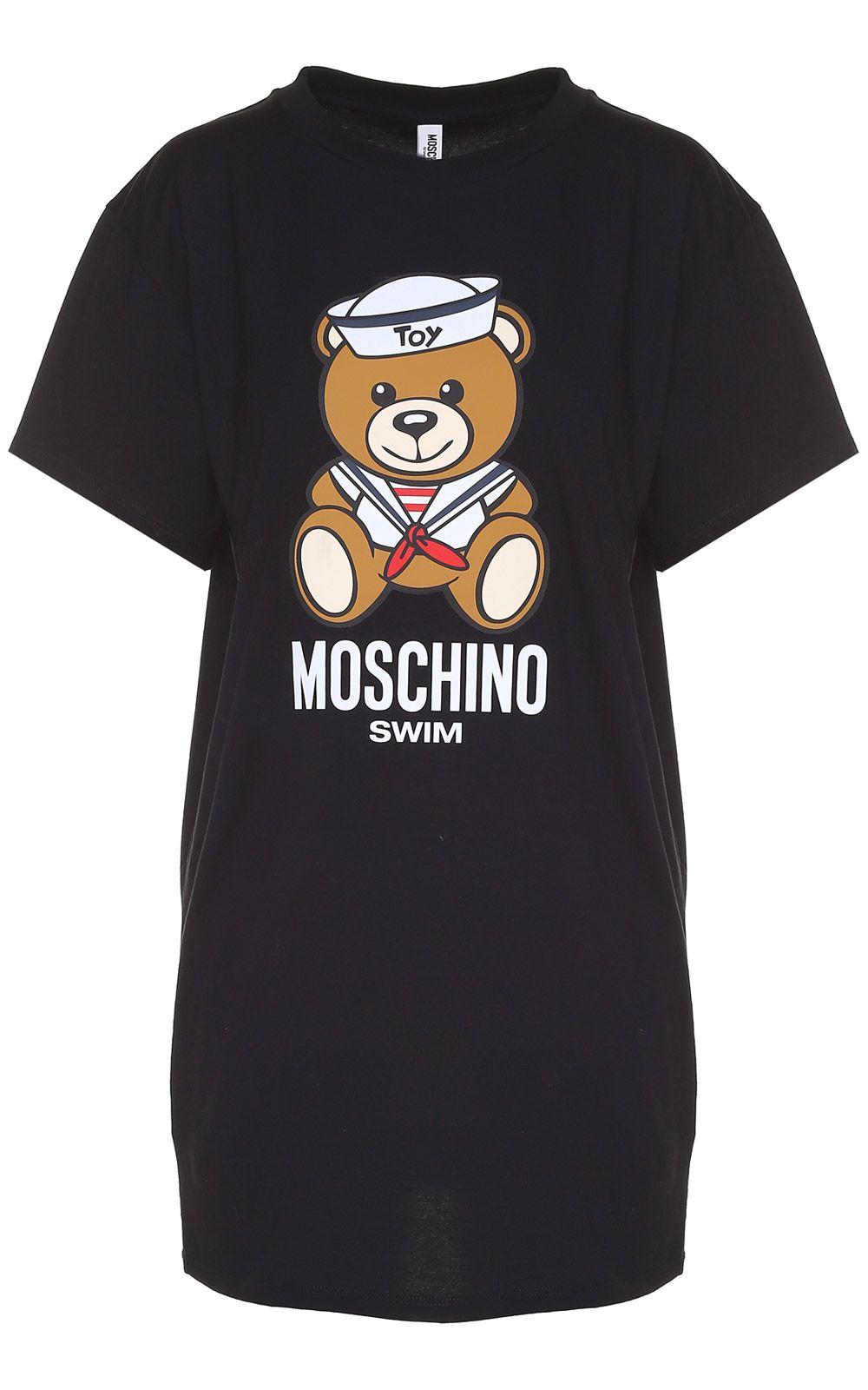Moschino Teddy Sailor Cotton-jersey Oversized T-shirt