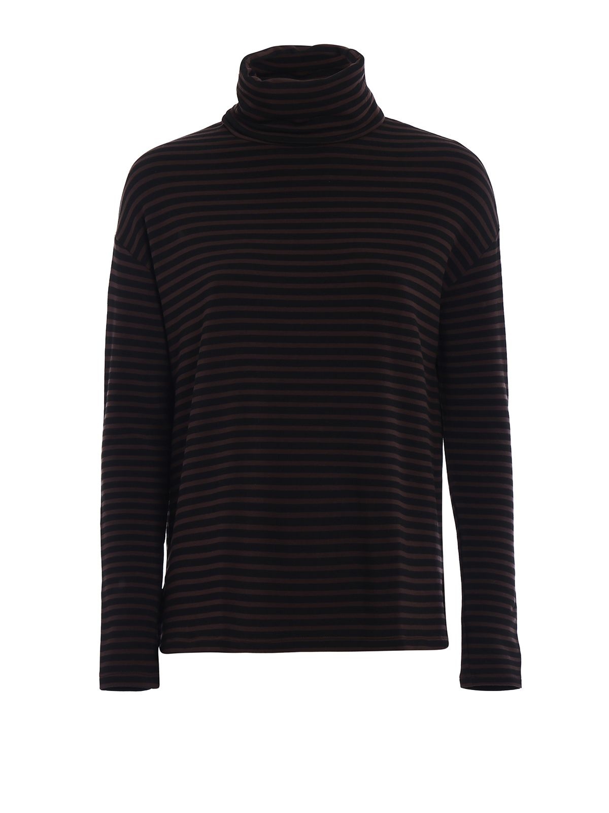 Striped Fleece Jersey T-shirt