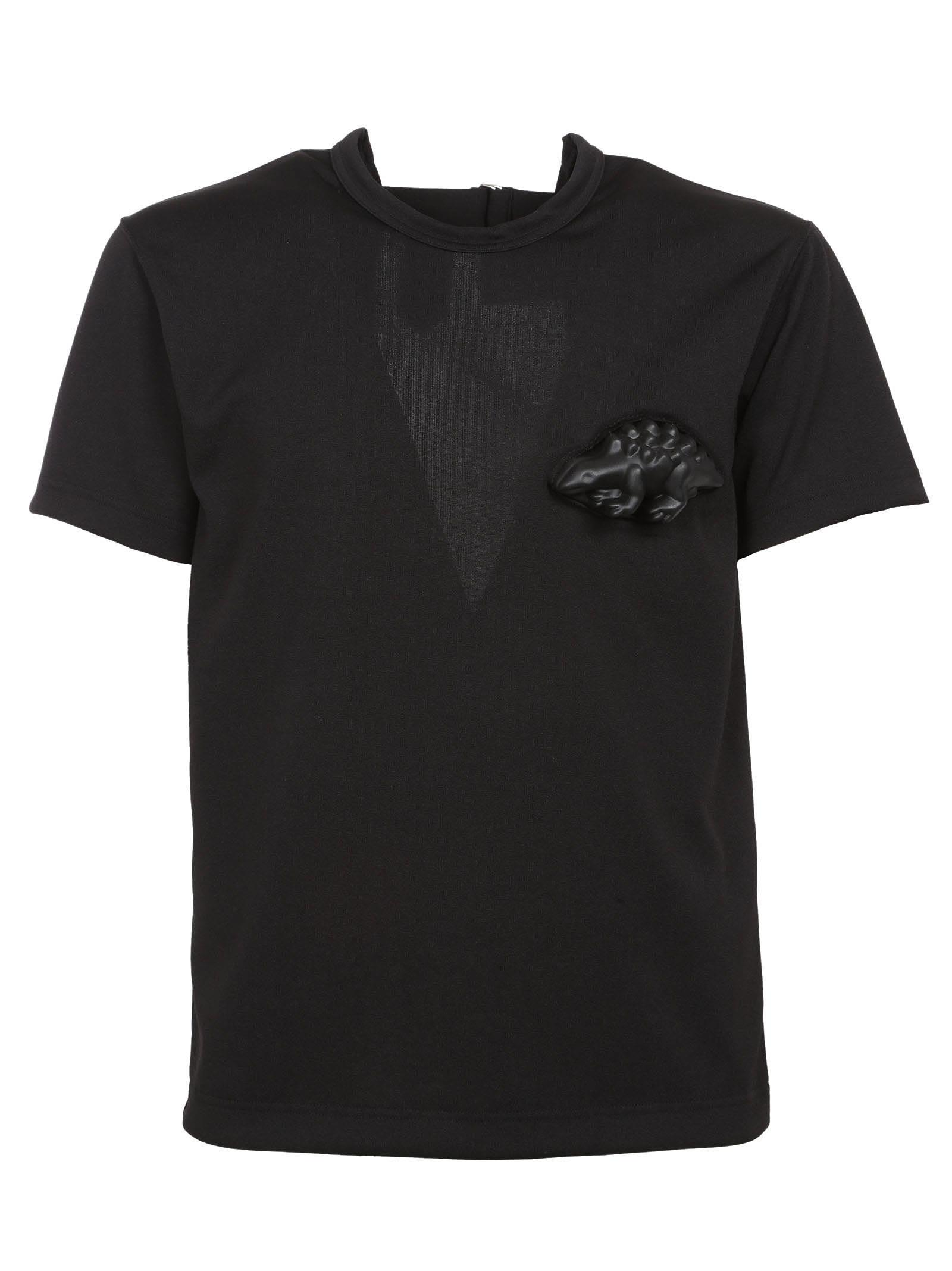 Comme Des Gar ons Open Back T-shirt