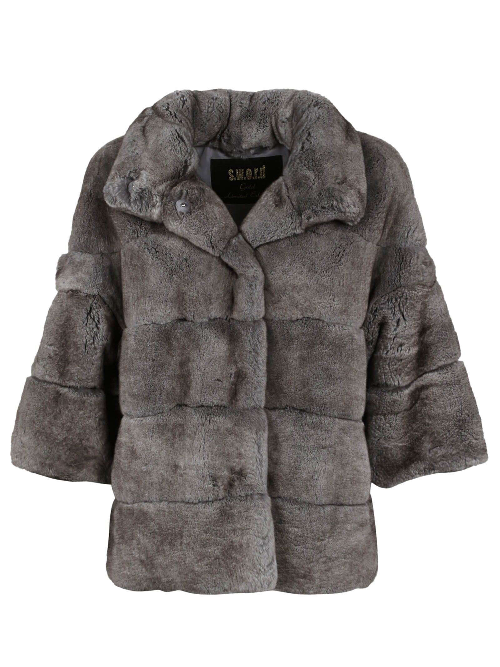 S.w.o.r.d. 6.6. 44 Rabbit Fur Jacket