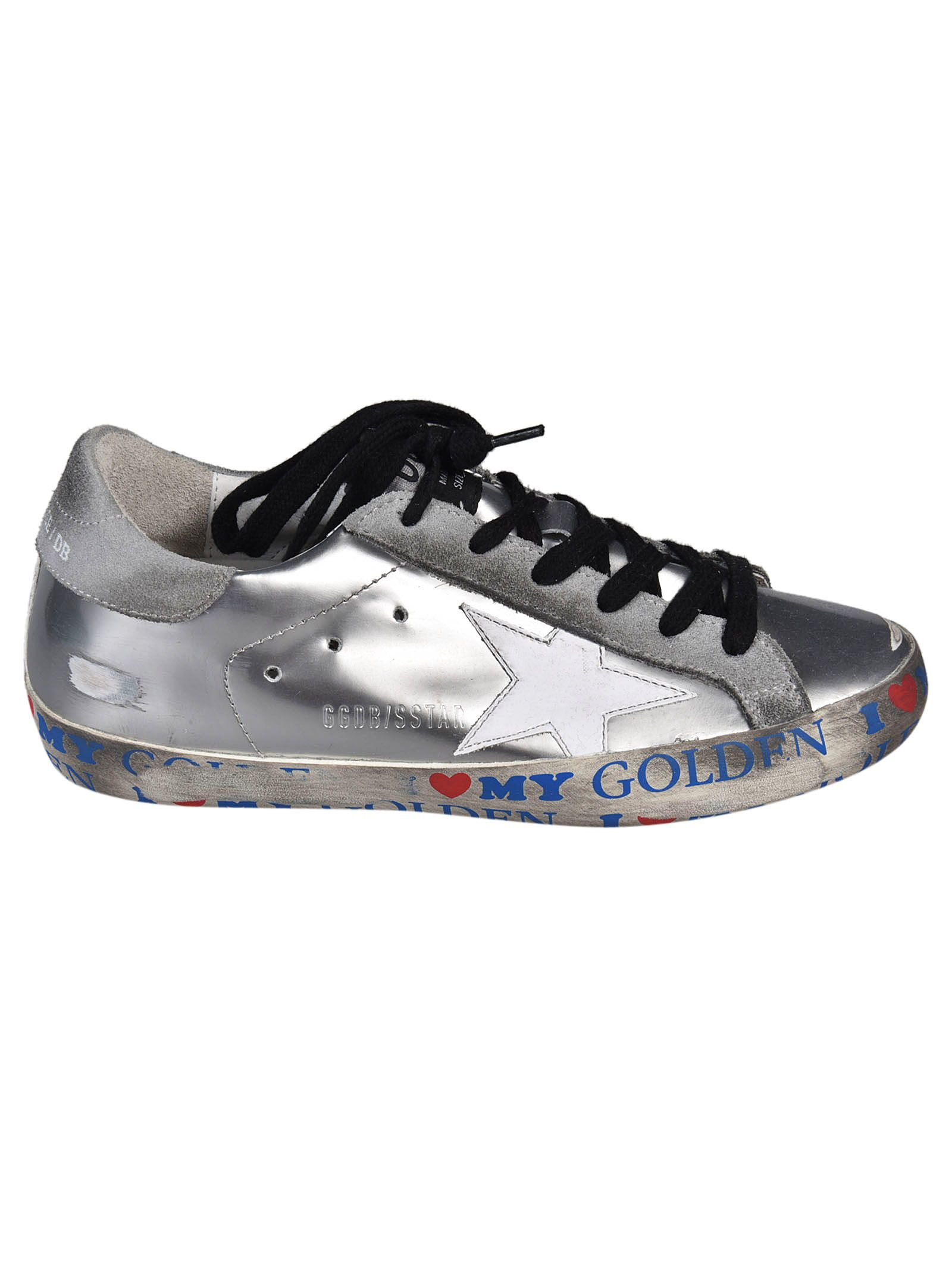 Golden Goose - Golden Goose Deluxe Brand Superstar Sneakers - Silver, Women's Sneakers | Italist