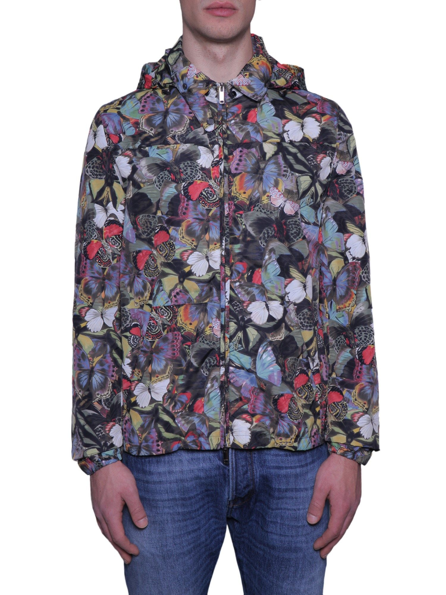 Camubutterfly Print K-way