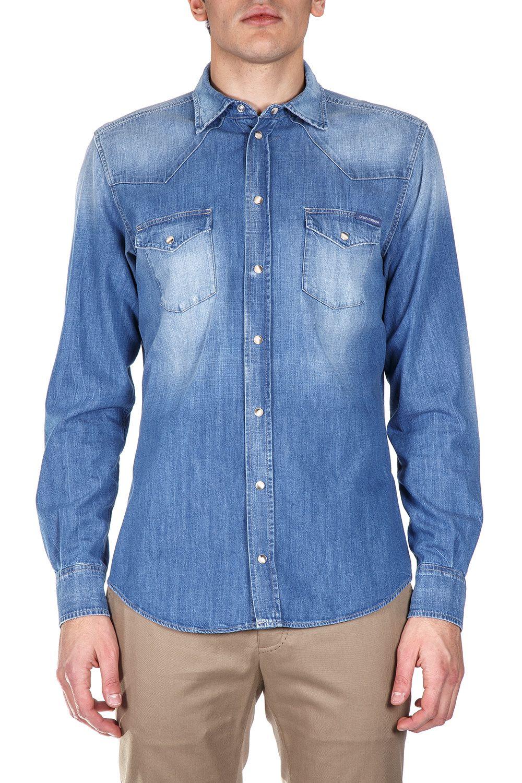 Dolce & Gabbana Cotton Denim Shirt