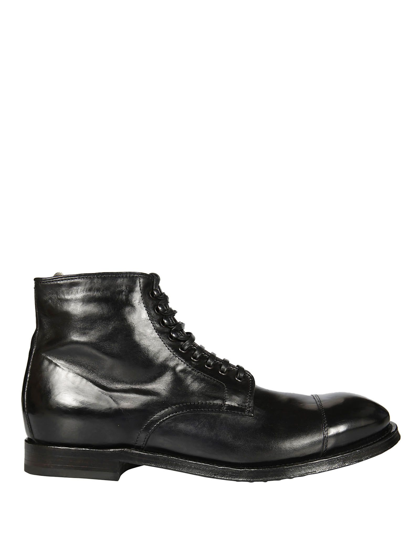 Officine Creative williams 007 Lace- Up Boots