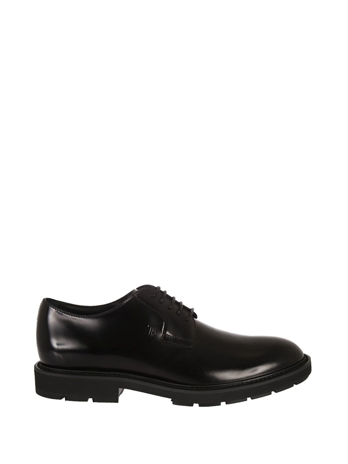 Tods Brushed Lace-up Shoes