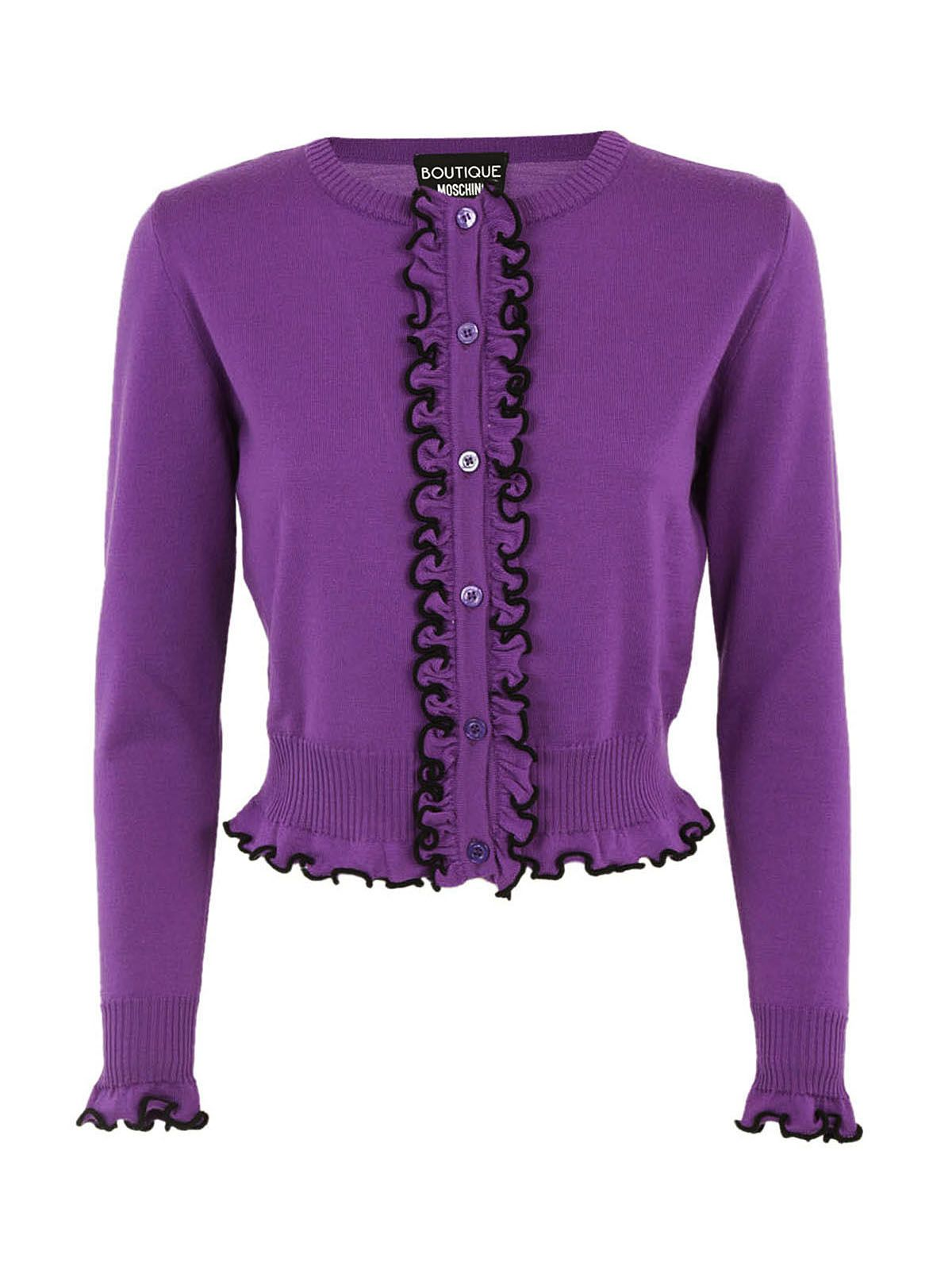 Boutique Moschino Frill Cardigan