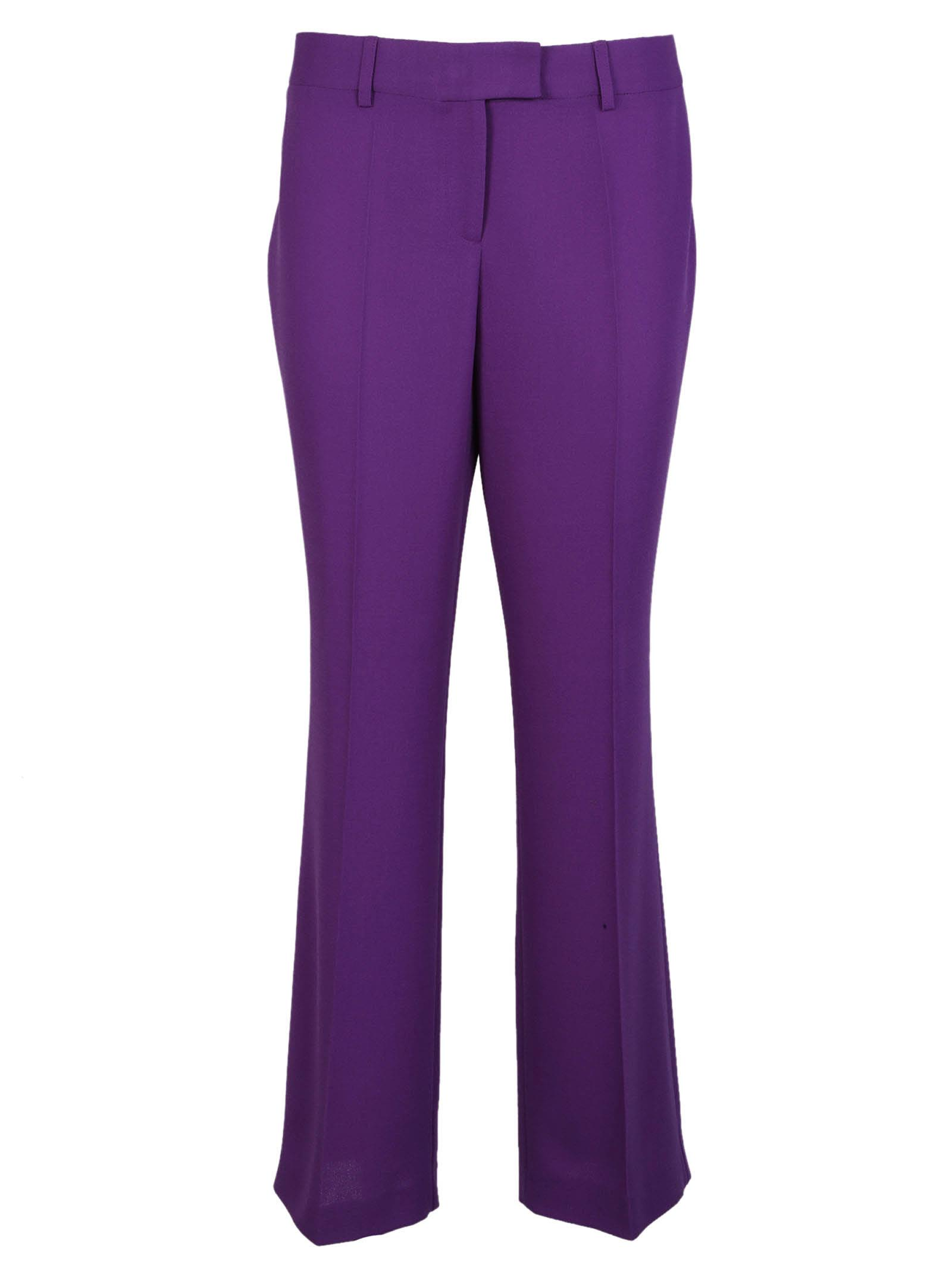 Boutique Moschino Pleated Flared Trousers