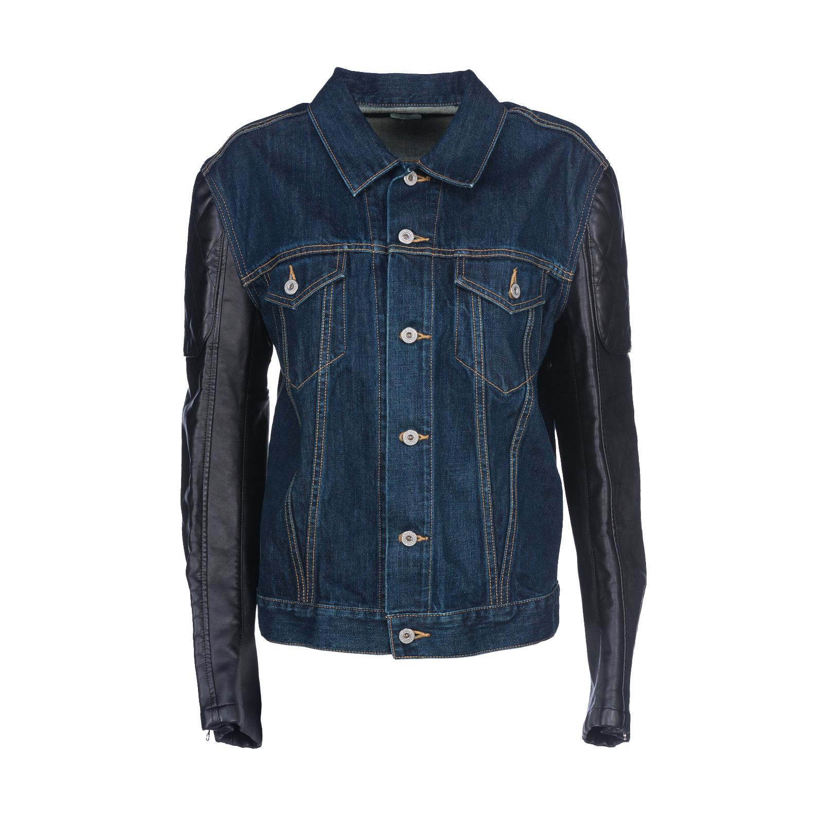 Junya Watanabe Comme Des Garçons Printed Denim Jacket
