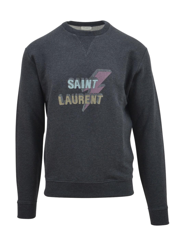 Saint Laurent Lightning Bolt Sweatshirt
