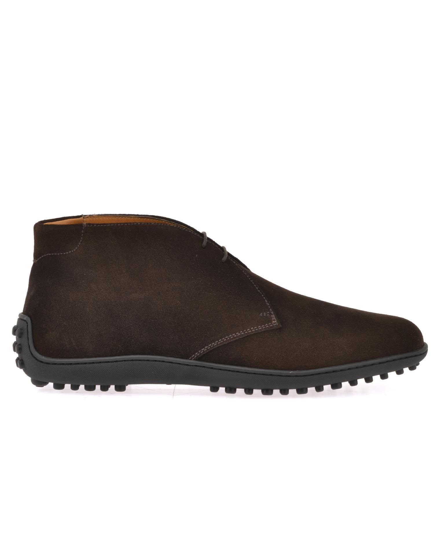 Car Shoe Leather Desert Boot