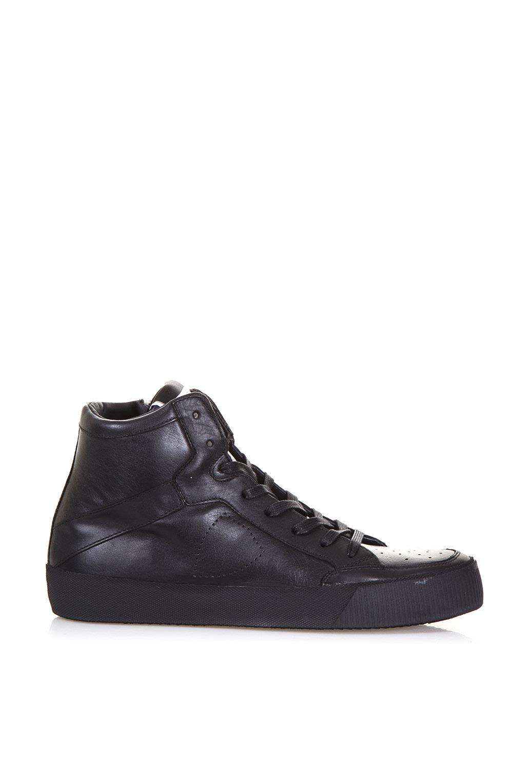 Philippe Model Lens High Leather Sneakers
